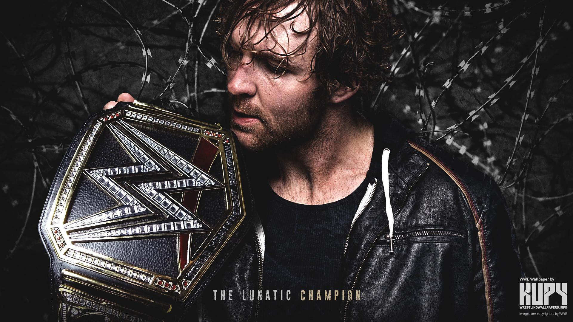 Dean Ambrose WWE World Heavyweight Champion by Nibble-T on DeviantArt