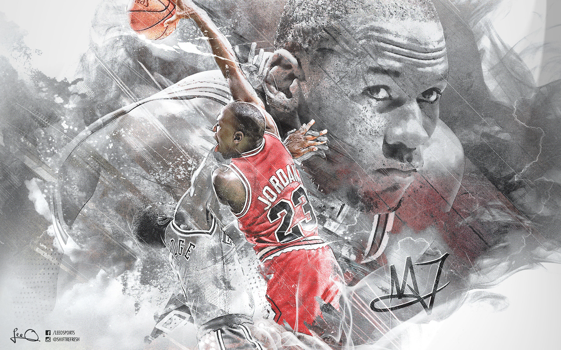 Michael Jordan Dunk Wallpaper
