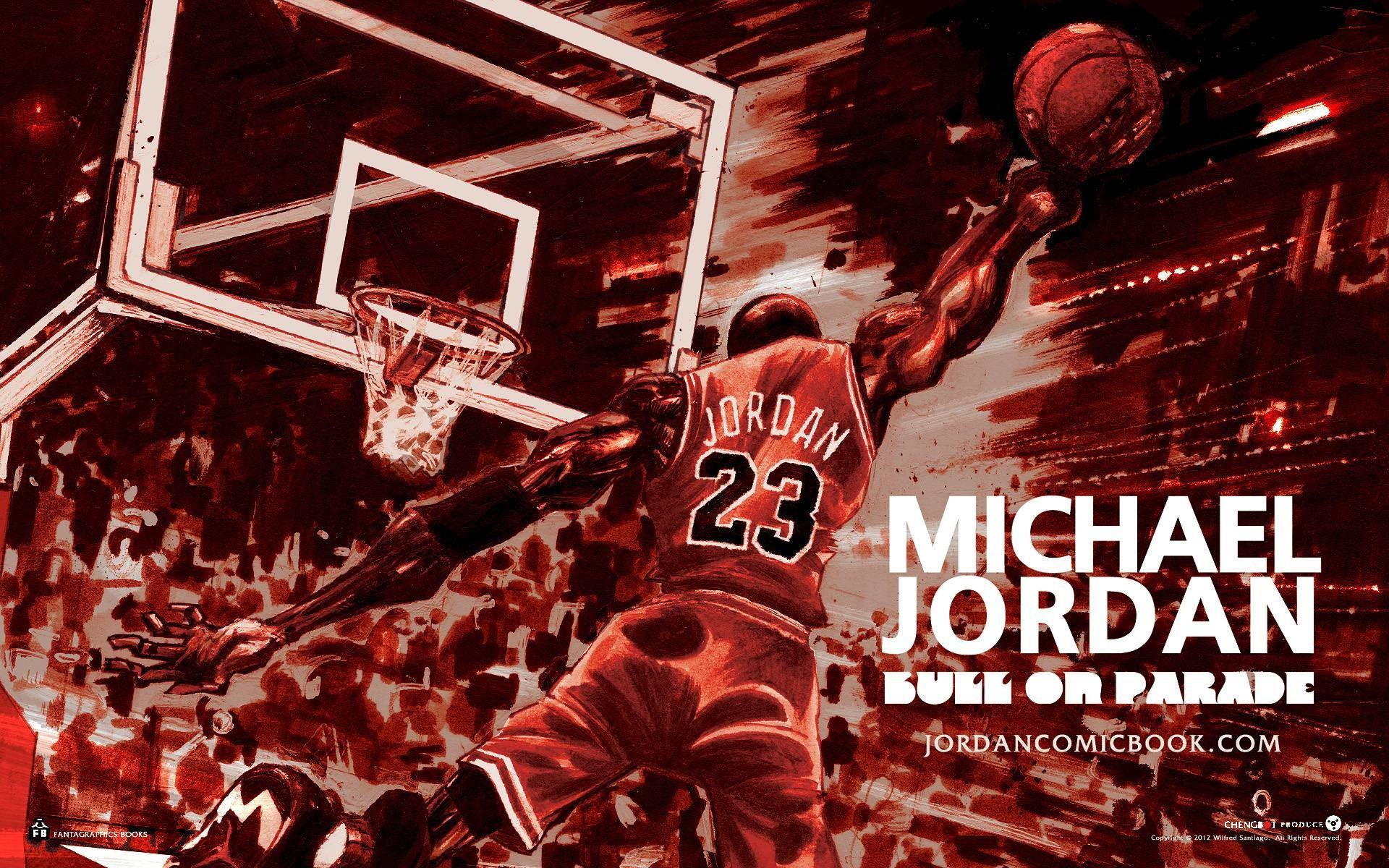 124 Michael Jordan Dunk