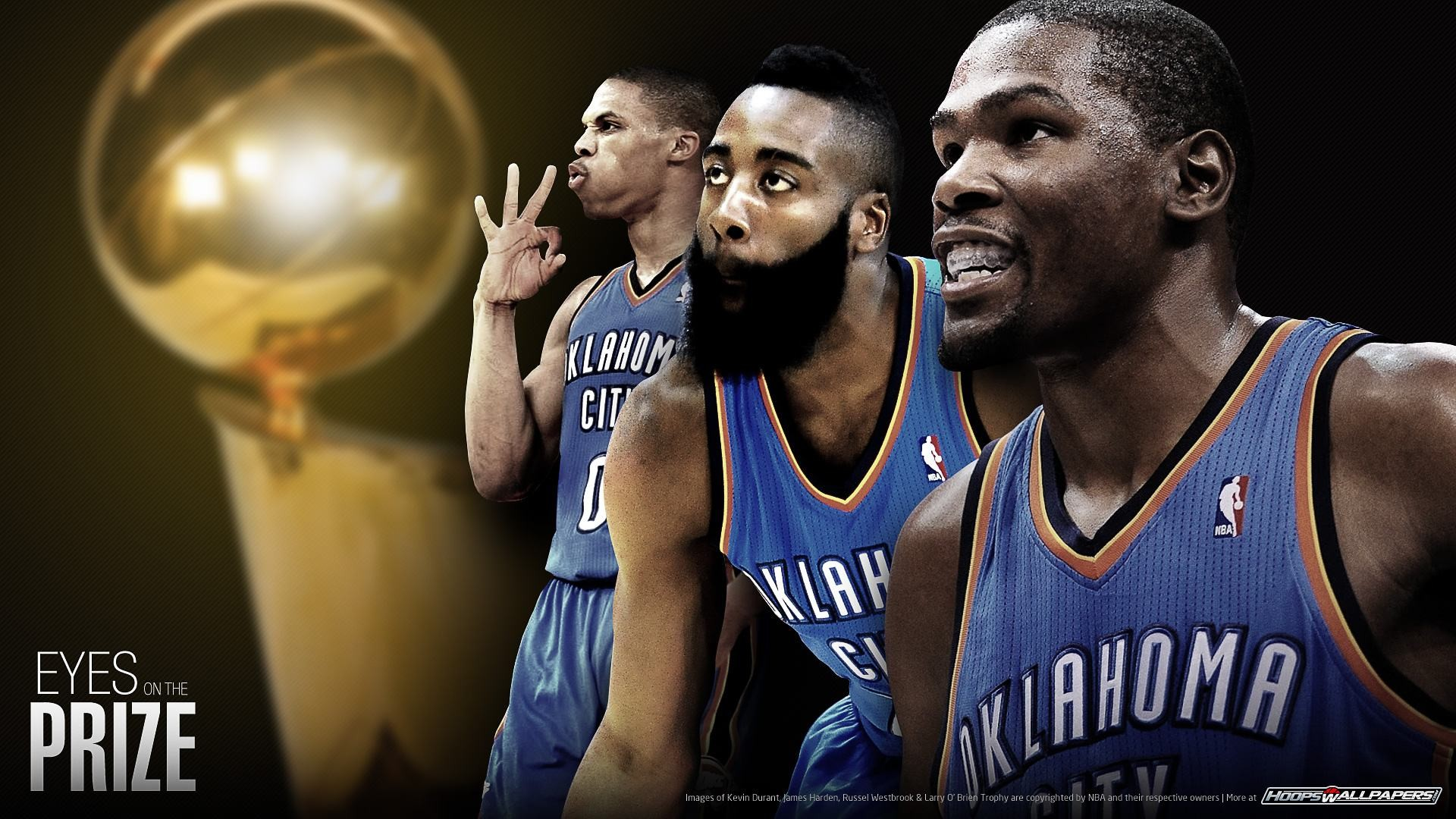 OKC Thunder Kevin Durant James Russell Westbrook And Kevin Durant Wallpaper  Hd