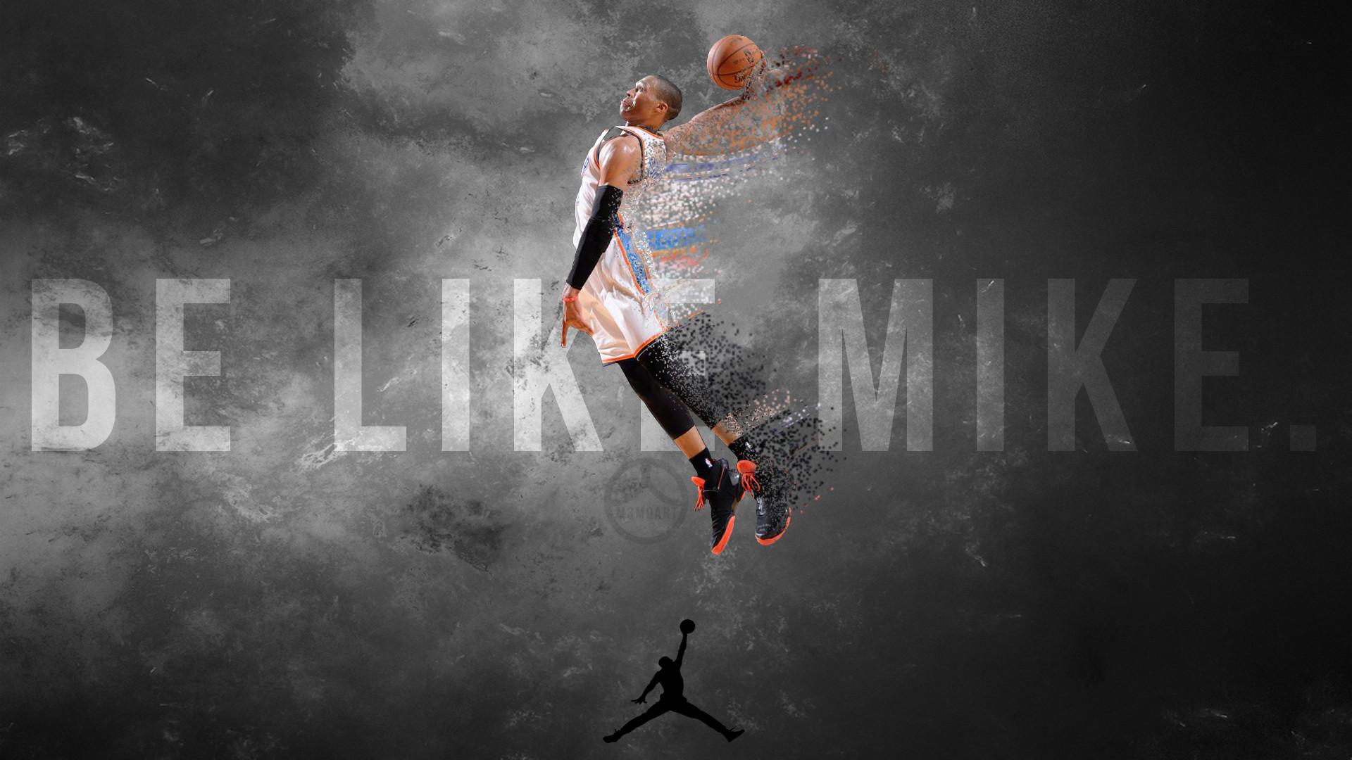Russell Westbrook Dunk Wallpaper | Oklahoma City Thunder 2013 .
