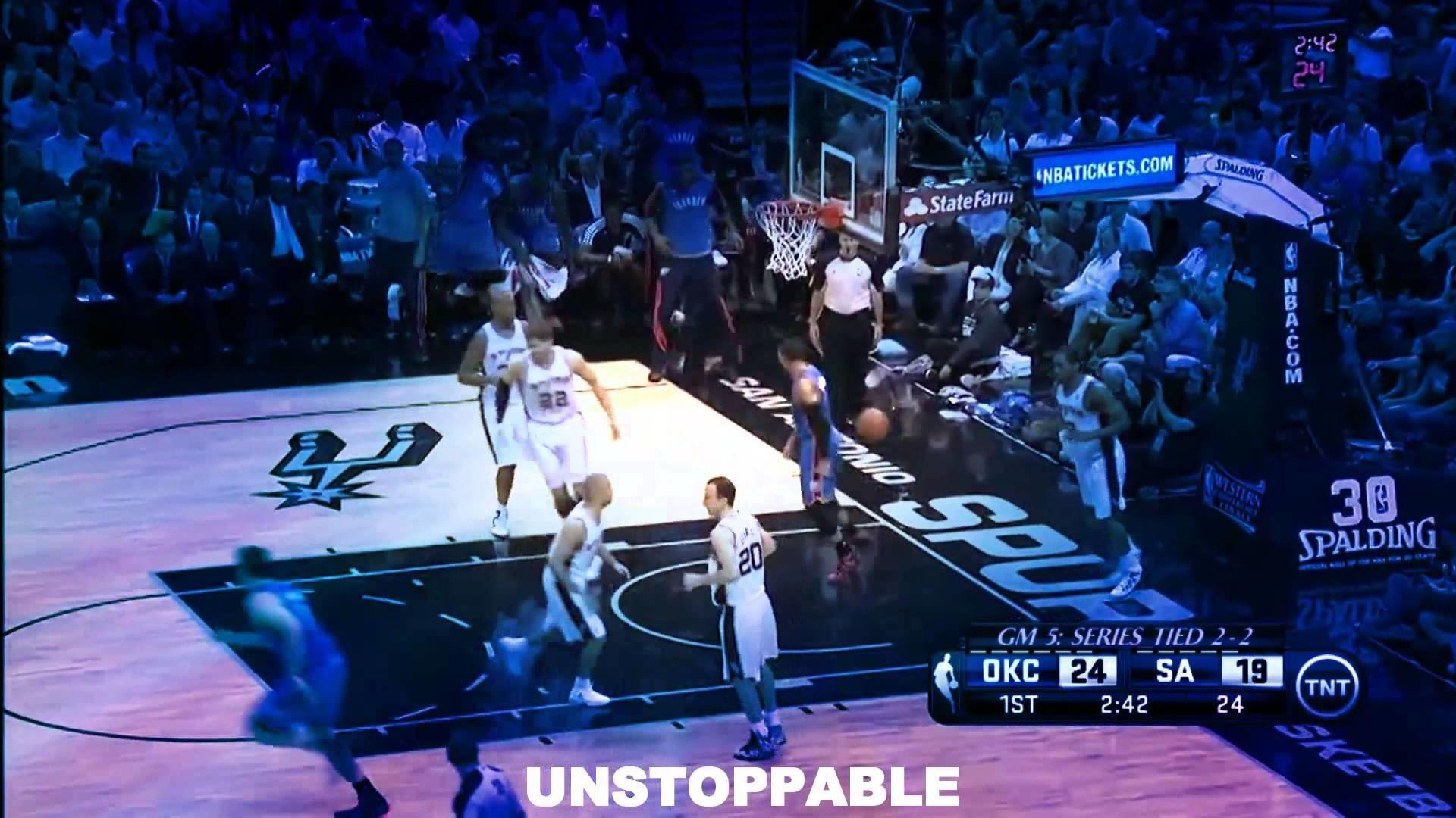 Russell Westbrook- Dunk vs. Spurs