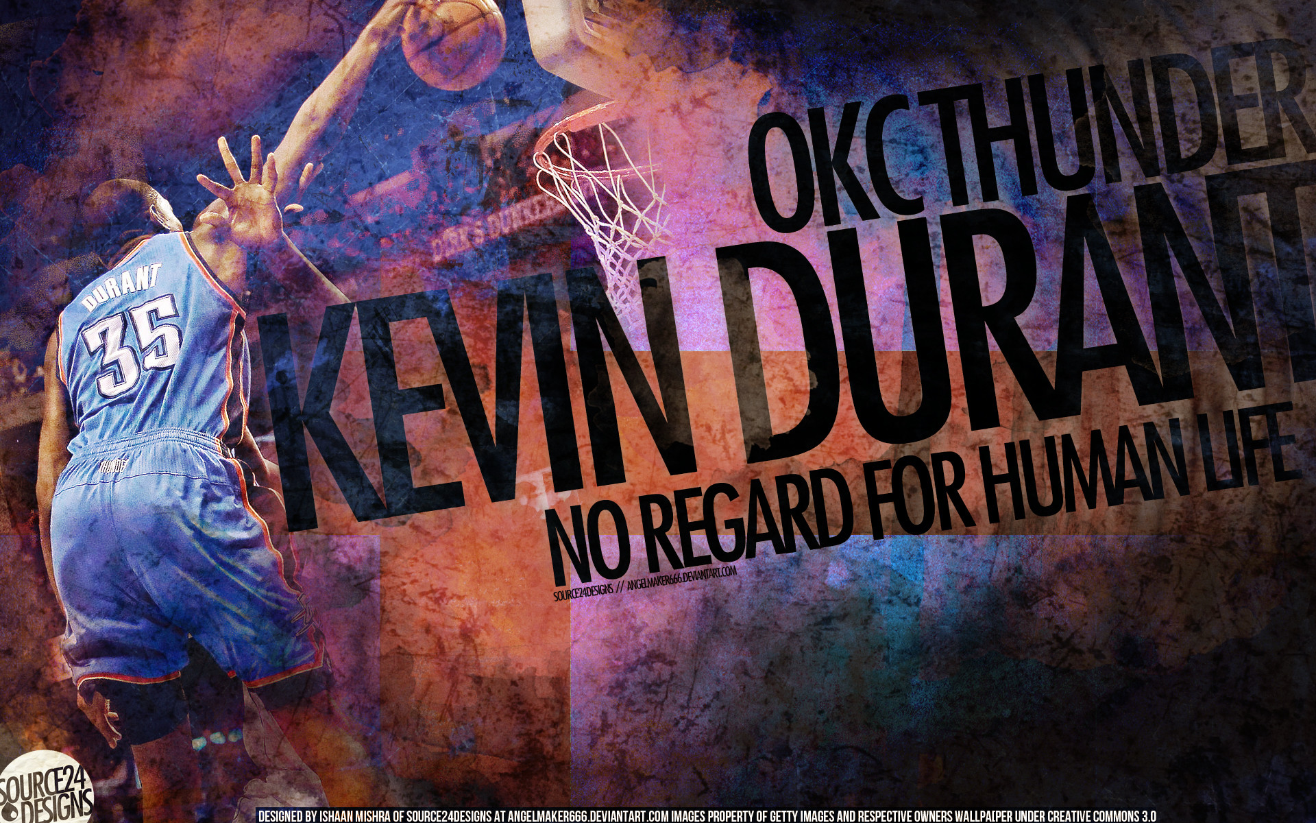 Kevin Durant Dunk Image
