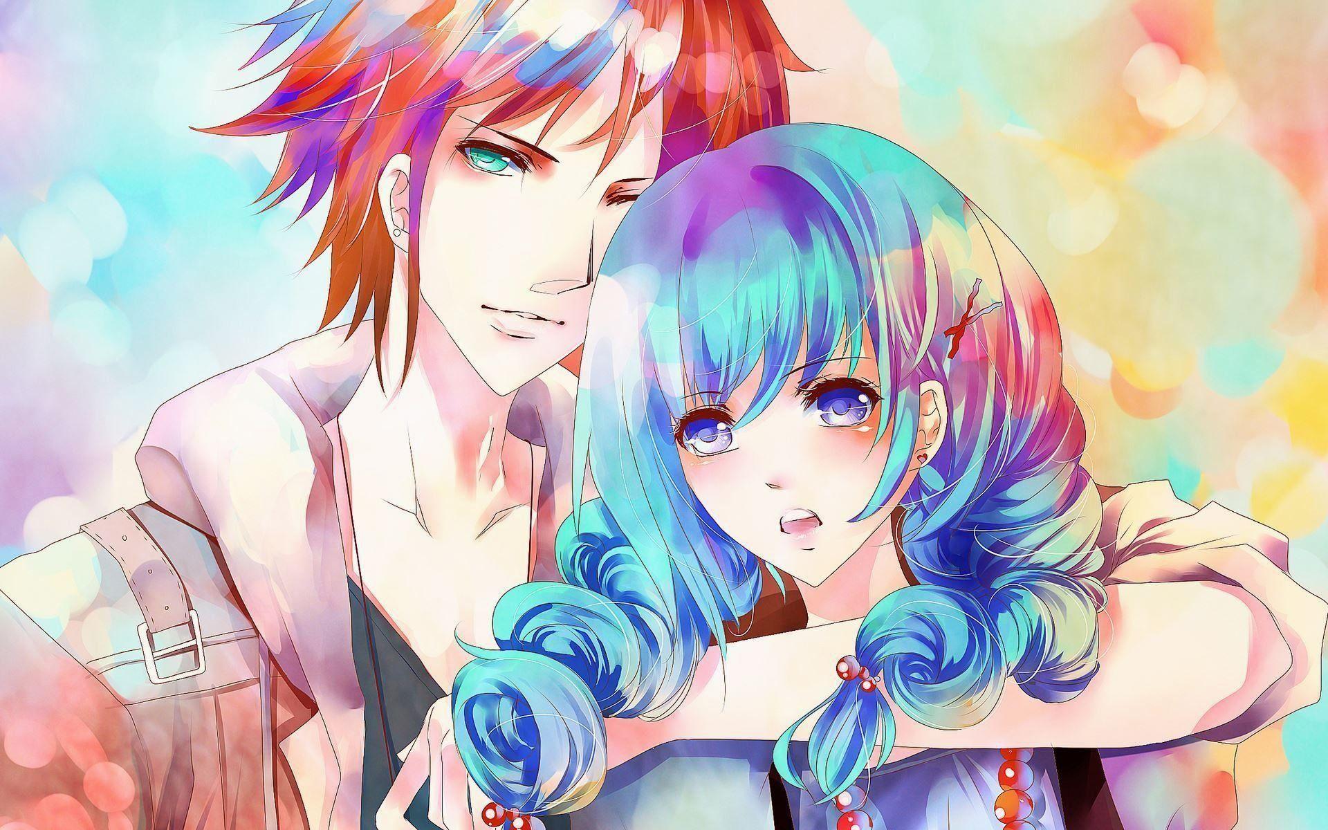 wallpaper.wiki-HD-Cute-Anime-Couple-Picture-PIC-