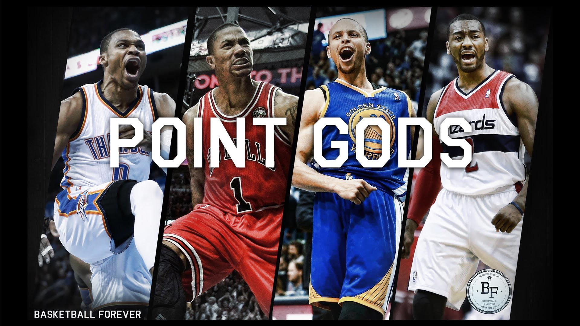 The Point Gods (Steph Curry, Russell Westbrook, John Wall, Derrick Rose) –  YouTube