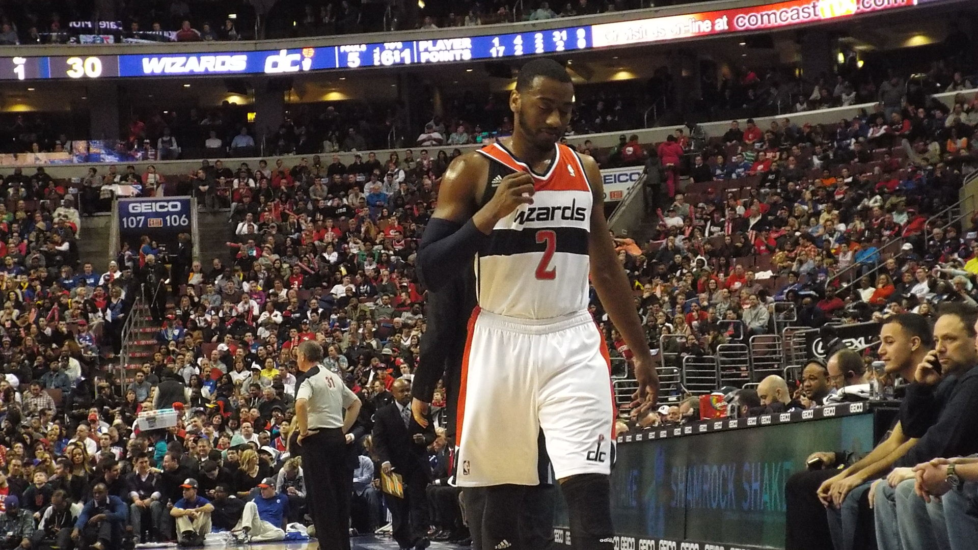 #WORDSWITHSCOOP Wizards' John Wall Discusses Allen Iverson's Influence