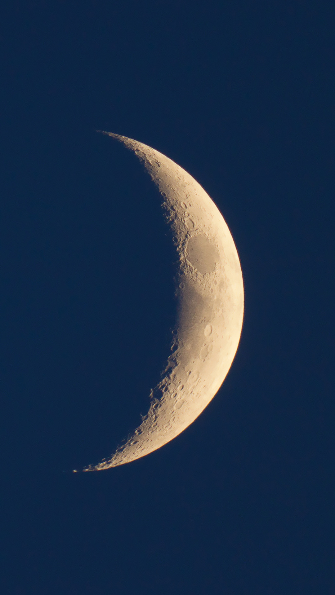 Our Crescent Moon iPhone 6 wallpaper