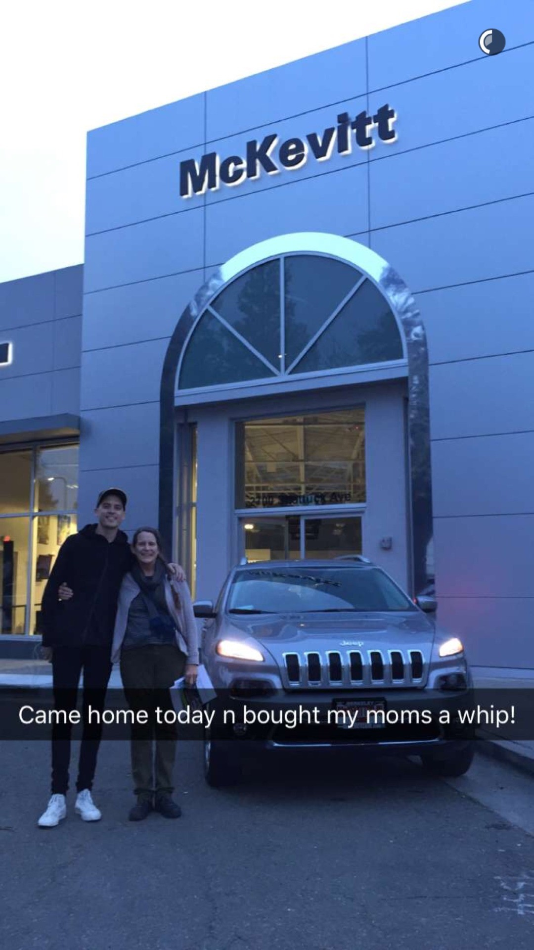 He bought his mom a car!🎉🎉🎉