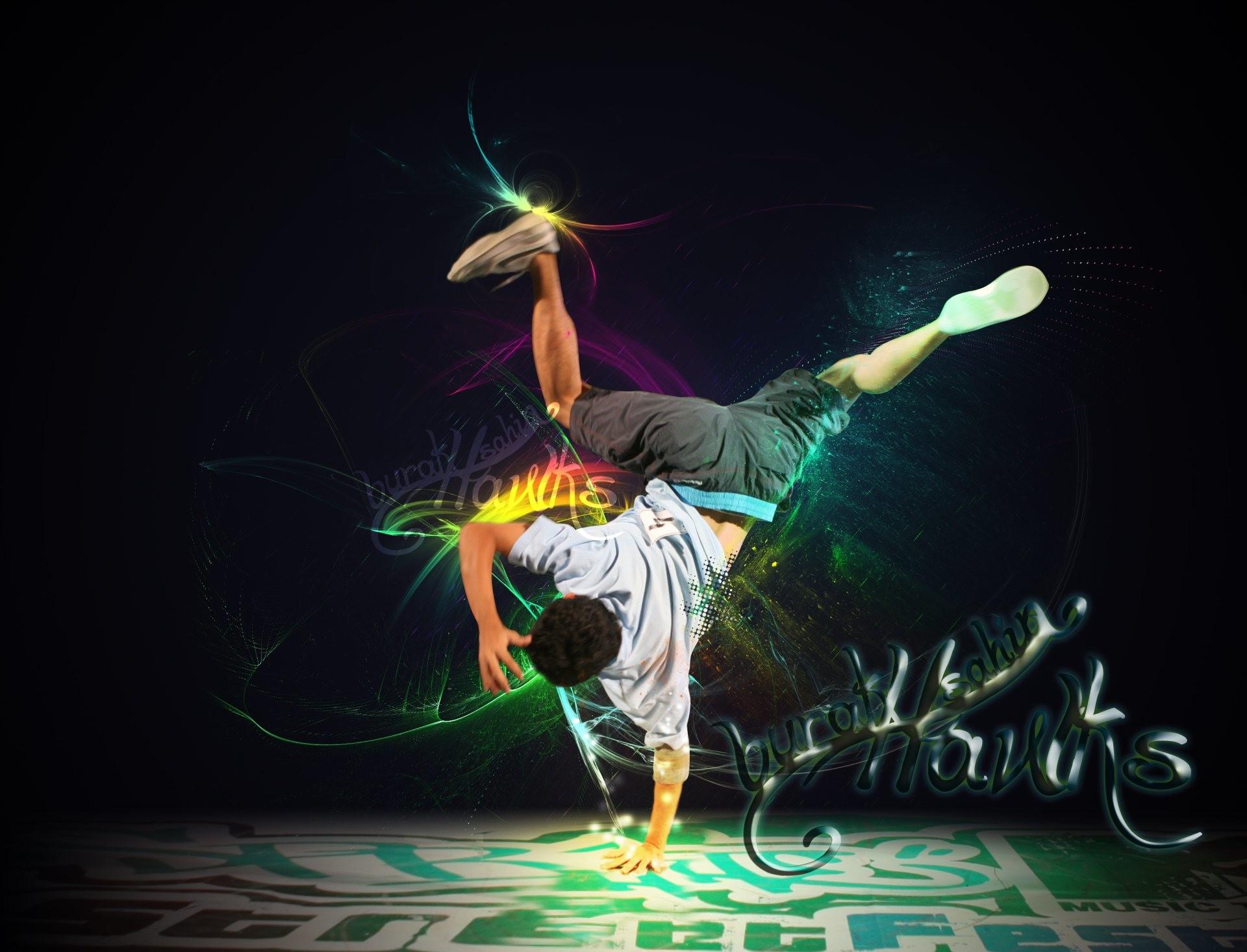 Dancing Boy HD Desktop Wallpaper