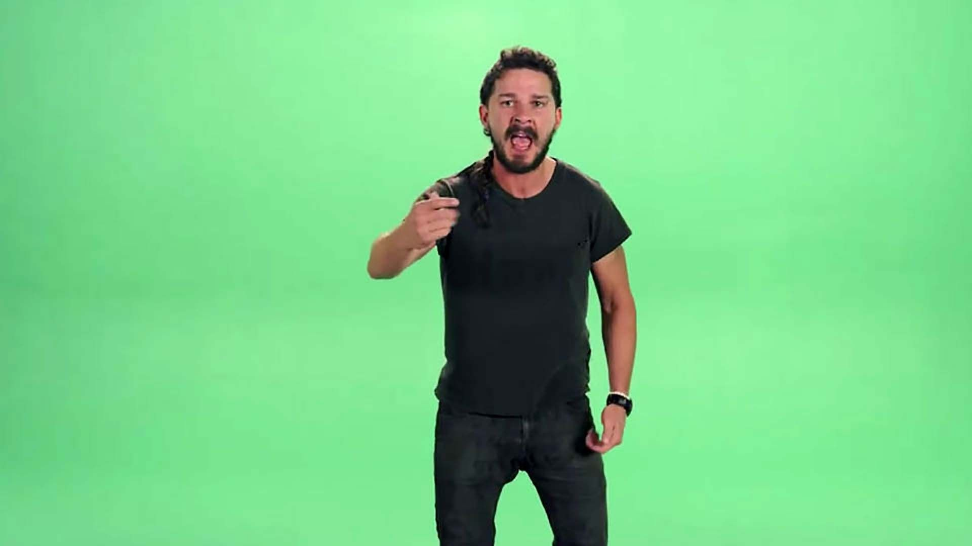 Shia LaBeouf's intense motivational speech has truly inspired the .
