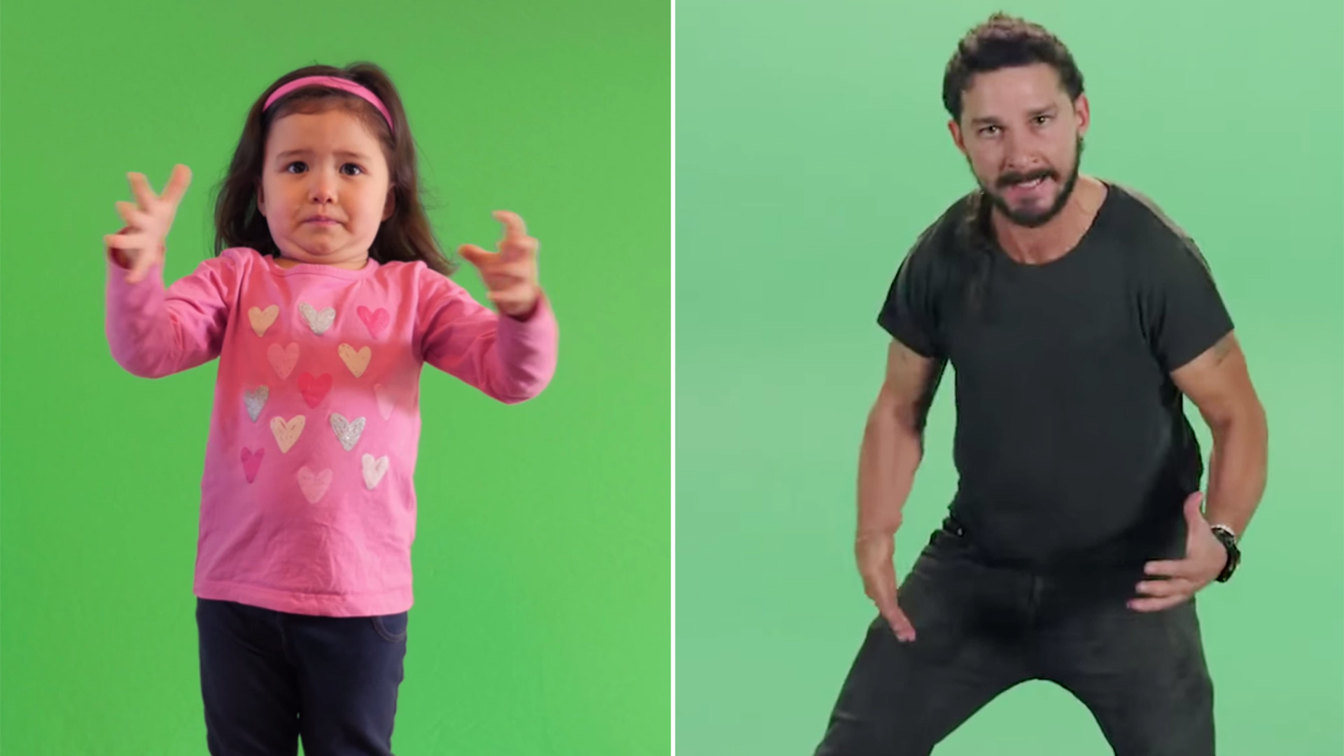 3-year-old spoofs Shia LaBeouf's motivational 'Just do it' speech –  TODAY.com
