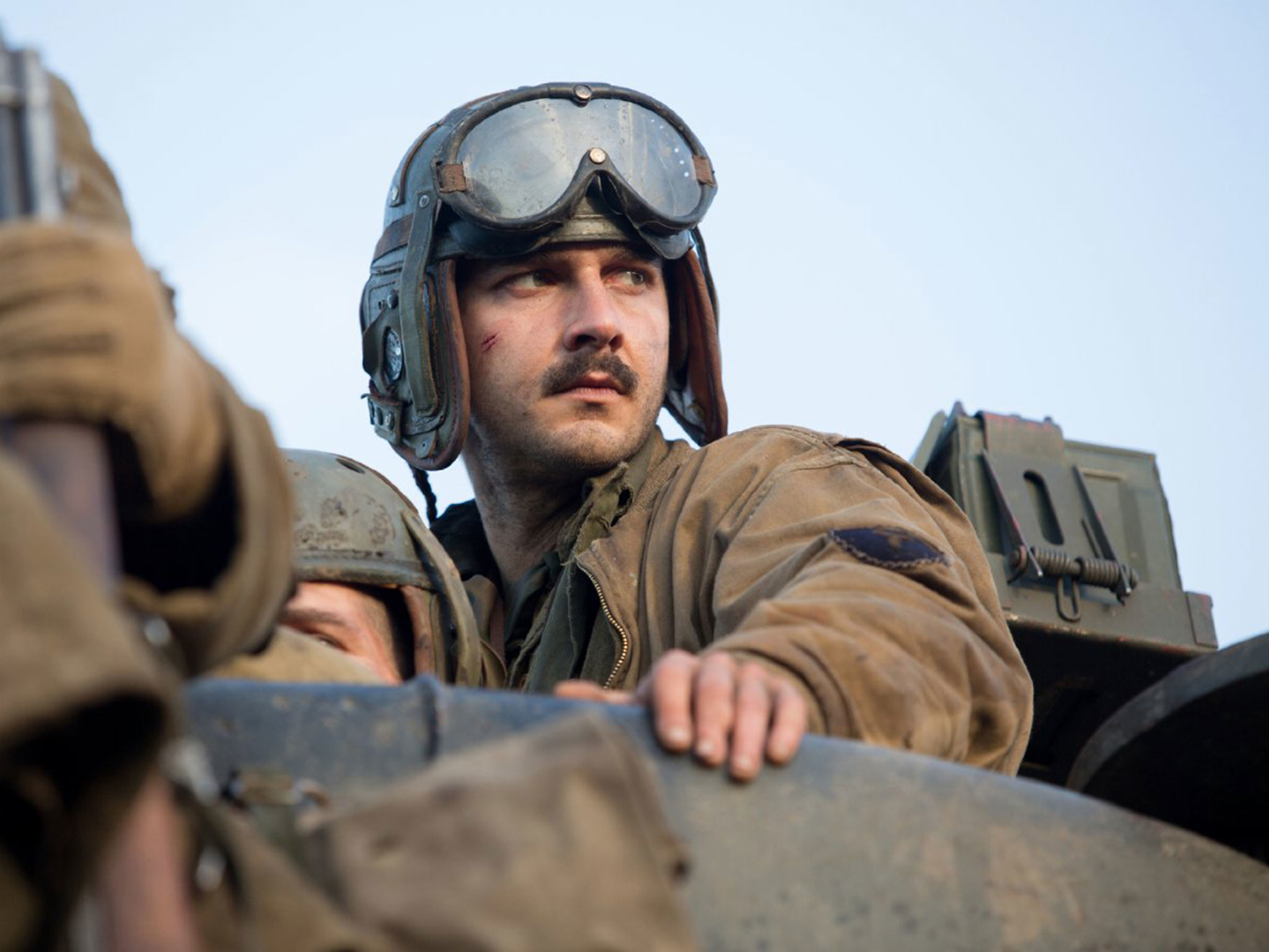 Shia Labeouf found God on the set of new war movie Fury and credits co-star  Brad Pitt and director David Ayer with helping him achieve a new level of  …