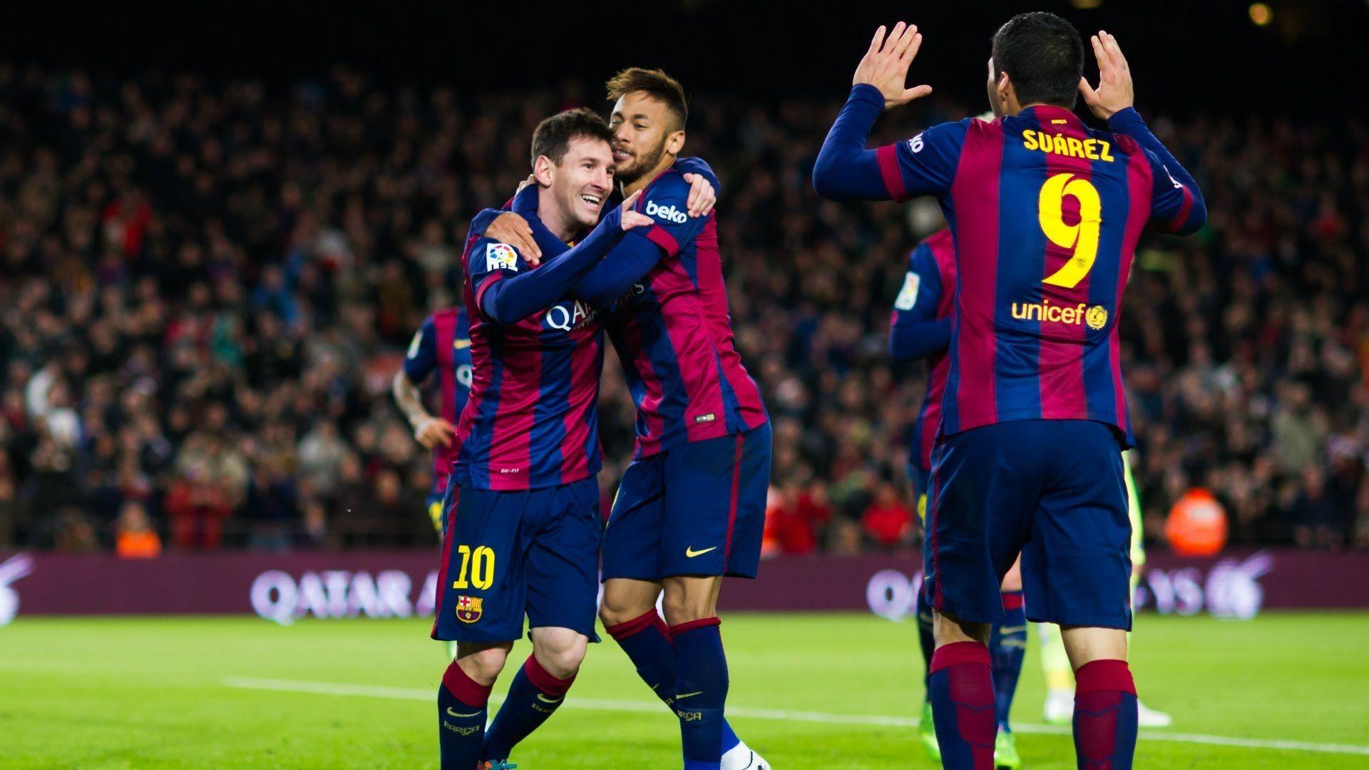 Suarez Messi Neymar Wallpaper 82549   NANOZINE