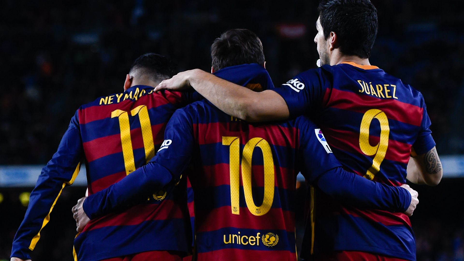 Arsene Wenger insists Arsenal are prepared to face Messi, Suarez and Neymar