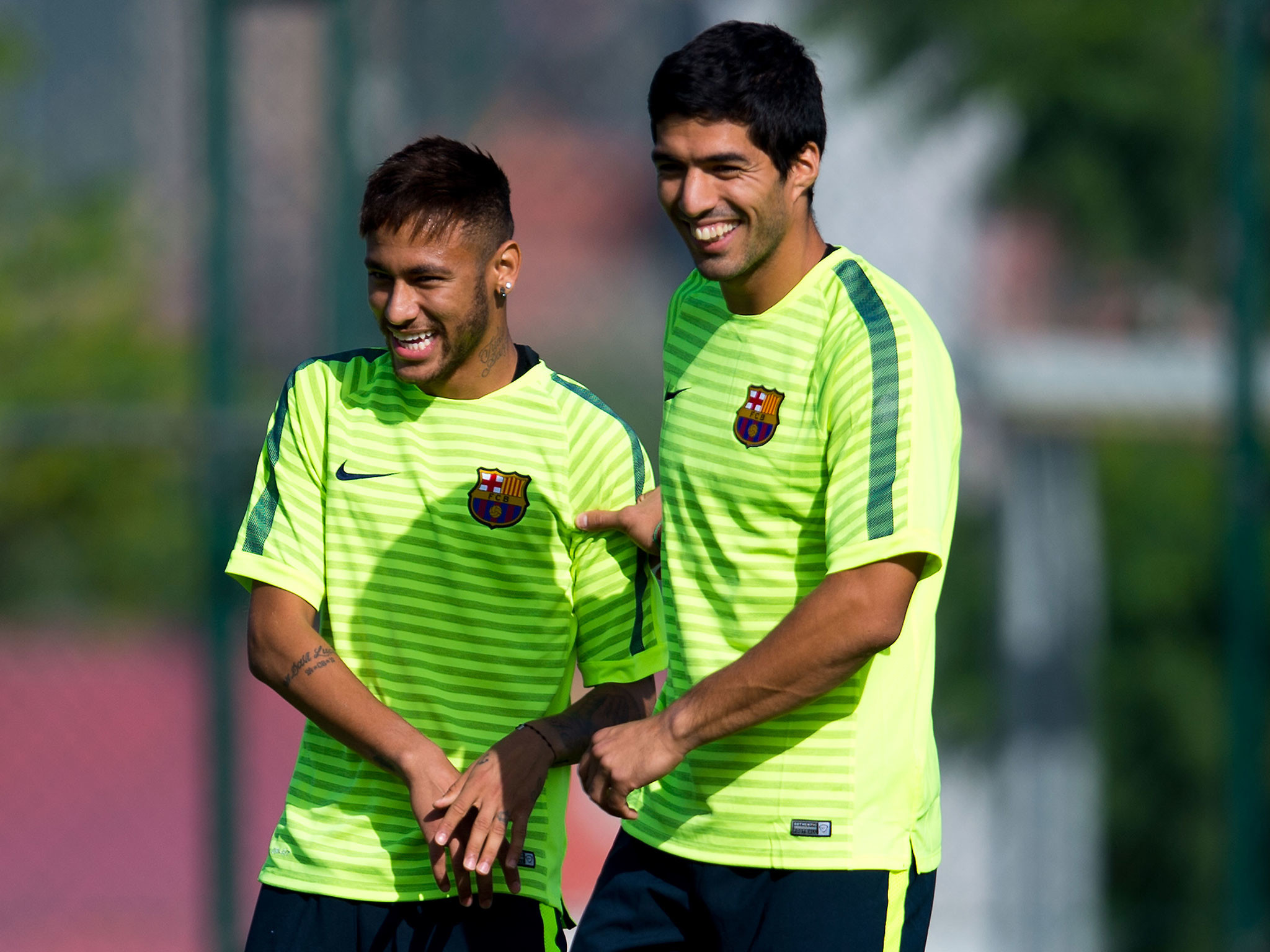 Luis Suarez: What Lionel Messi and Neymar had to say about Suarez as he  prepares to make Barcelona debut against Real Madrid   The Independent