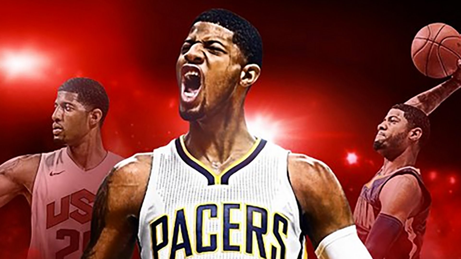 Paul George On Cover of NBA 2K17
