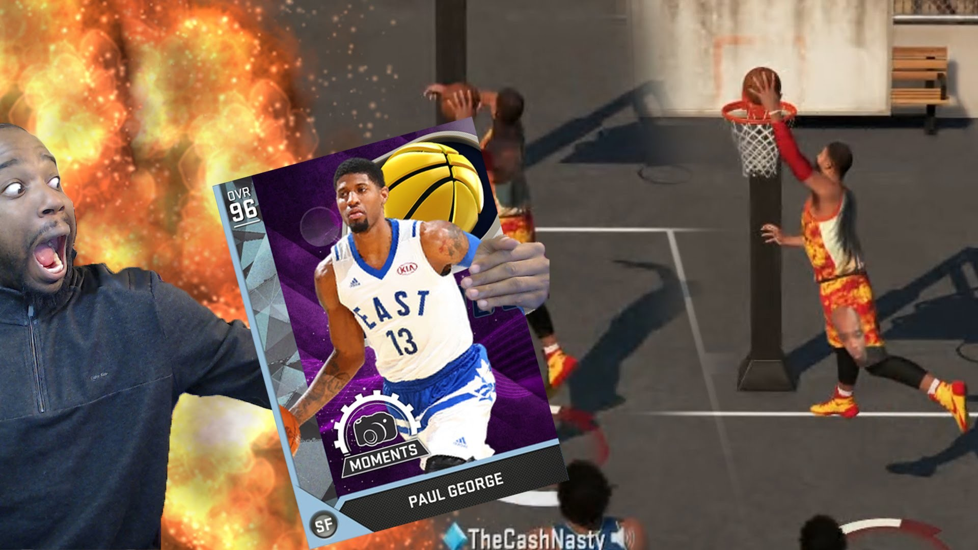 RATED R! DIAMOND PAUL GEORGE GOES OFF! NBA 2k16 MyTeam Gameplay – YouTube