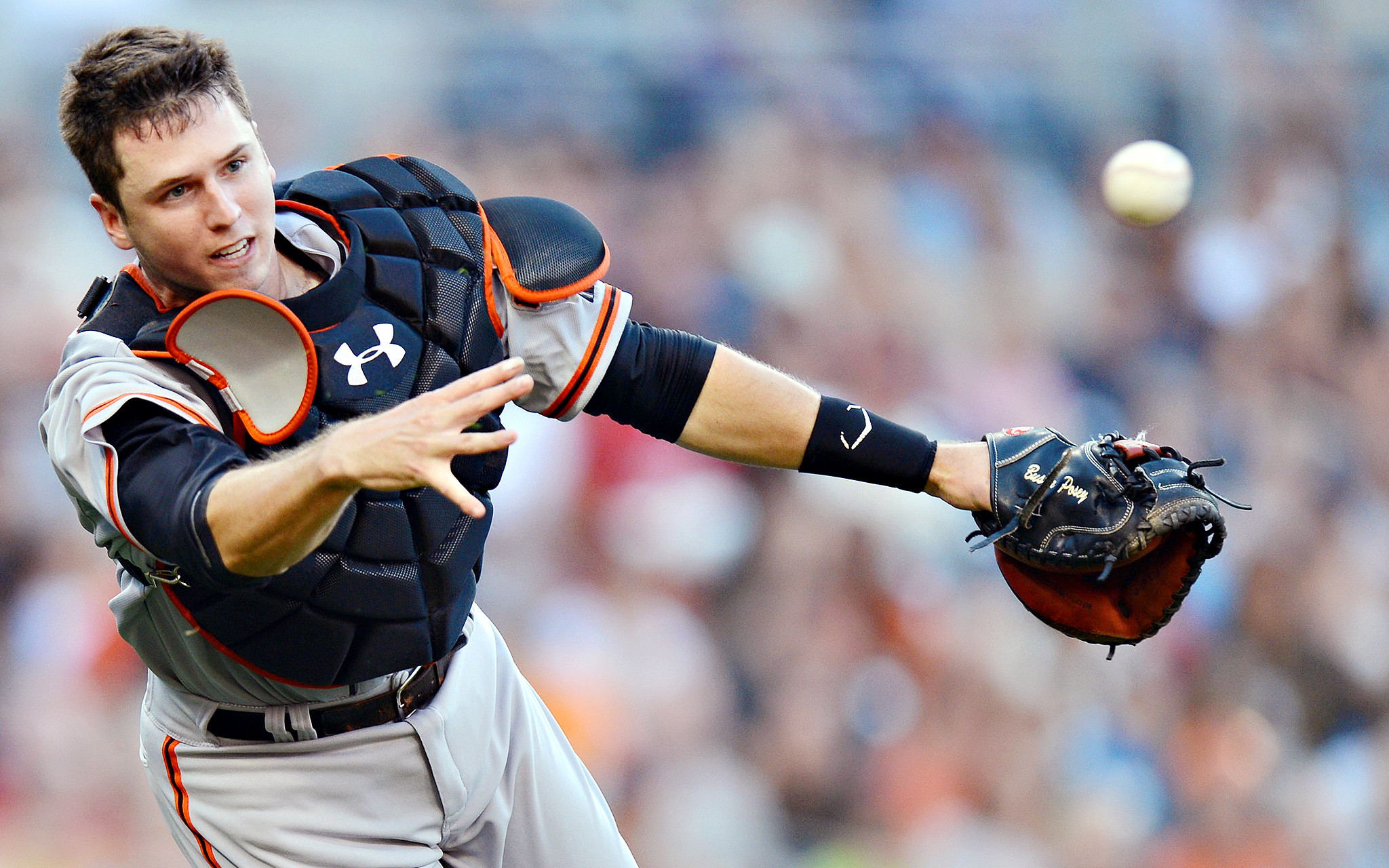 """Born in Leesburg, Georgia, March 27, 1987, Gerald Dempster Posey III is the  eldest of """"Buster"""" and Traci's four children. He grew up playing football,  …"""