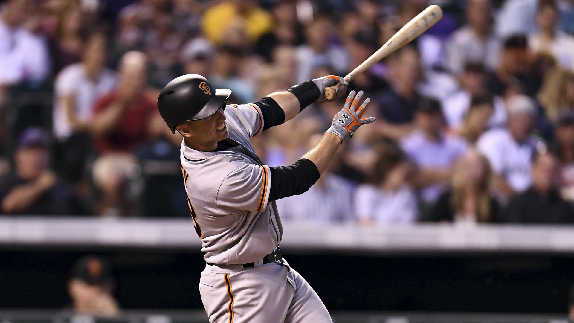 Giants' Nunez, Posey exit early with leg injuries against Rockies | NBCS  Bay Area
