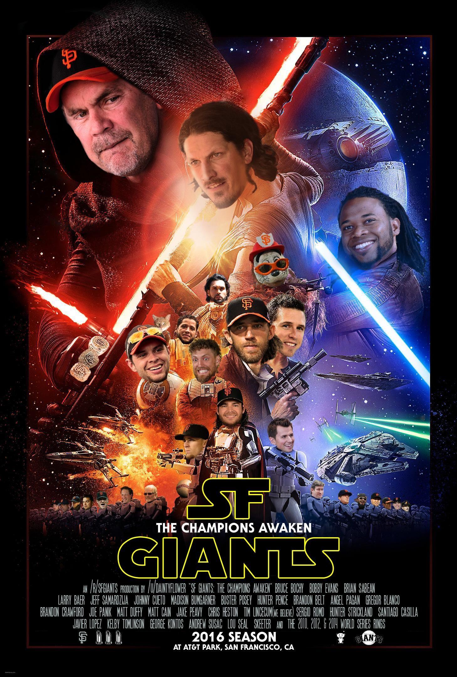 SF Giants: The Champions Awaken
