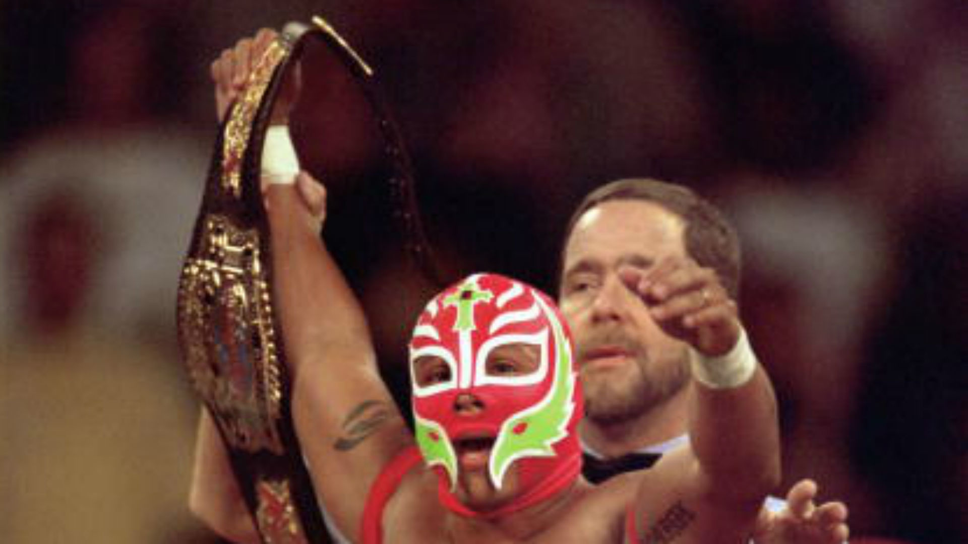 Remembering the time Rey Mysterio won the World Heavyweight Championship    WWE   Sporting News