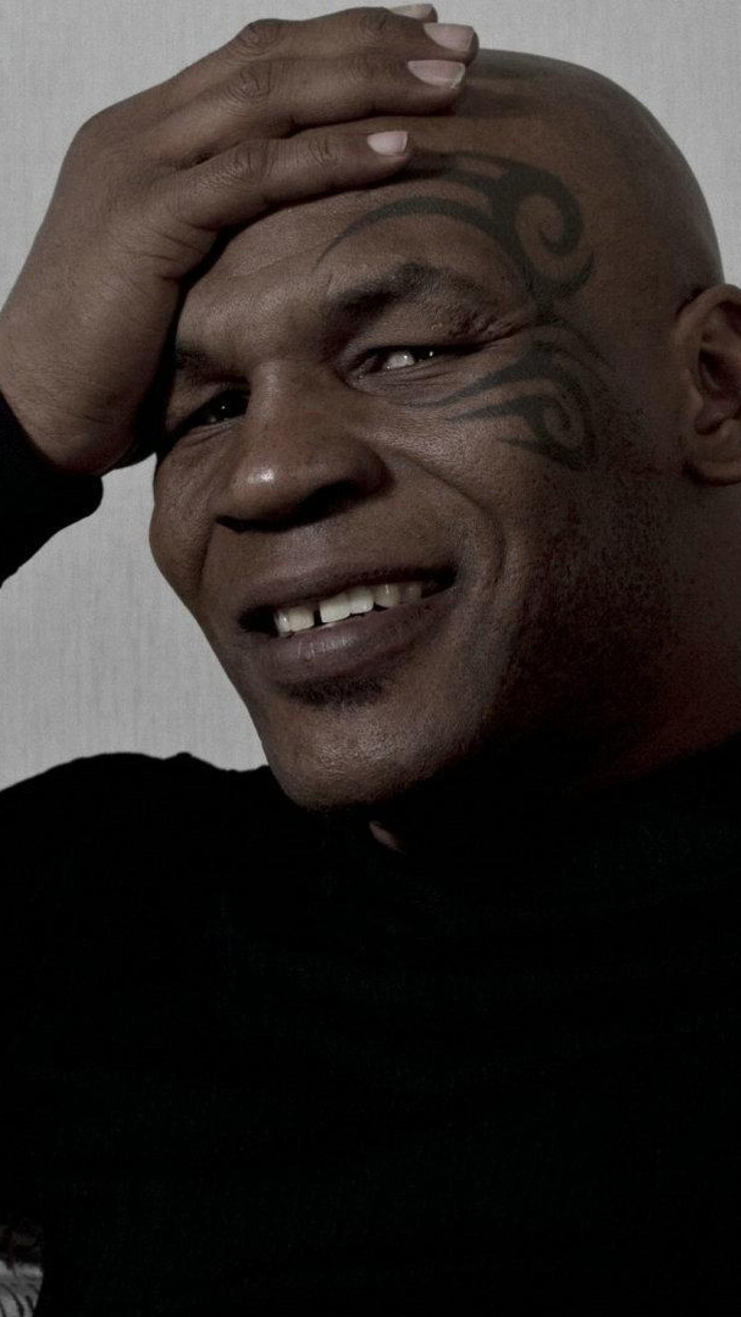 Wallpaper mike tyson, boxing, boxer, tattoos, smile