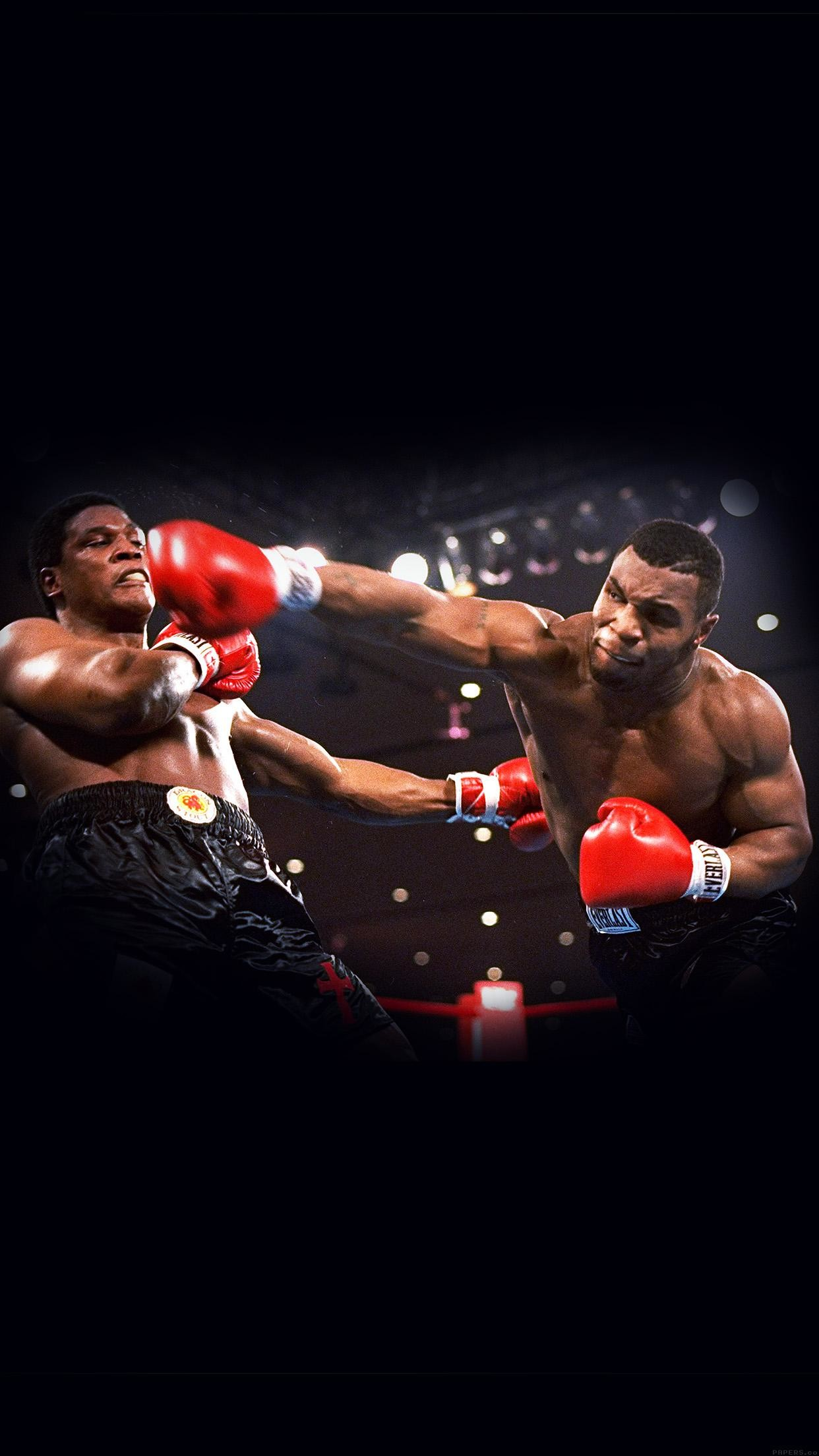 This Is Boxing Mike Tyson Sports Dark