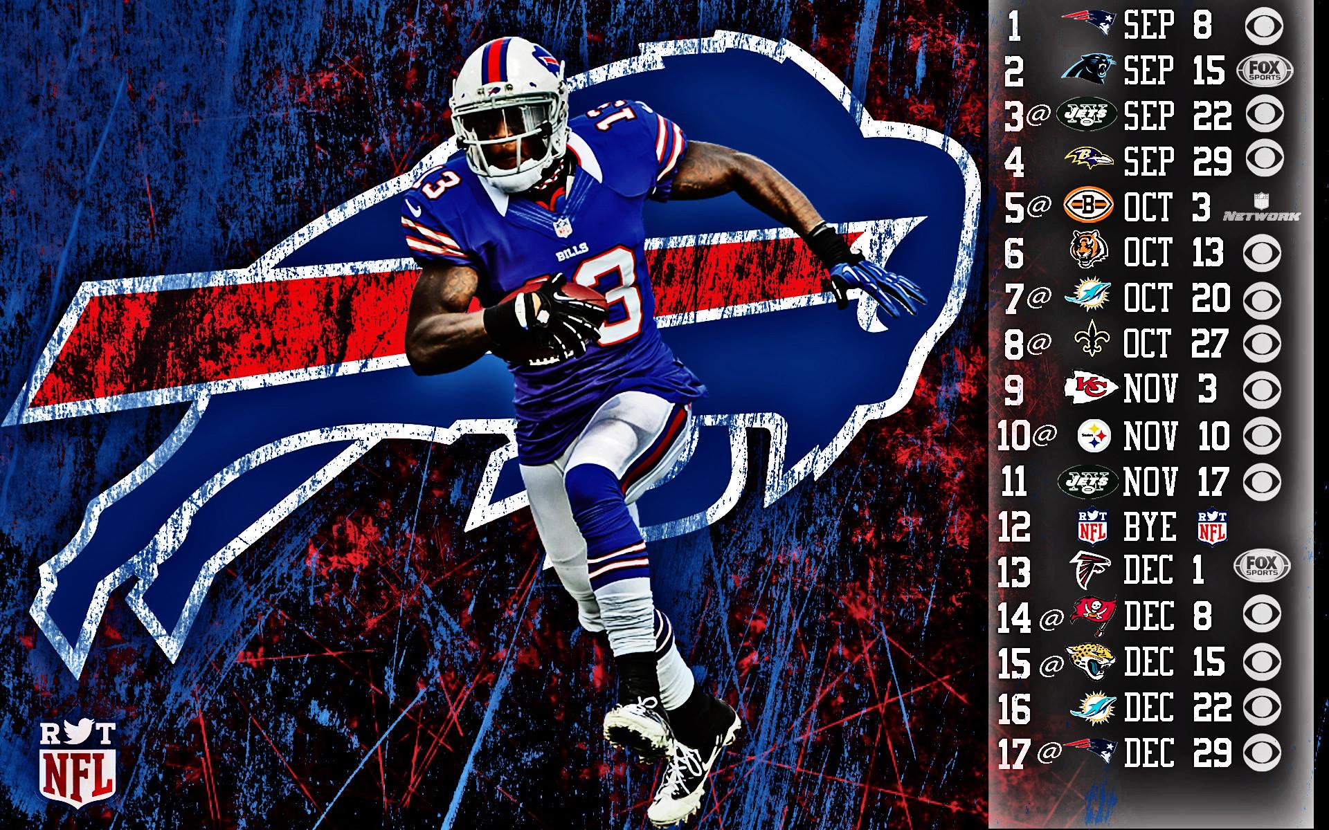 … Stevie Johnson 2013 Schedule HDR …