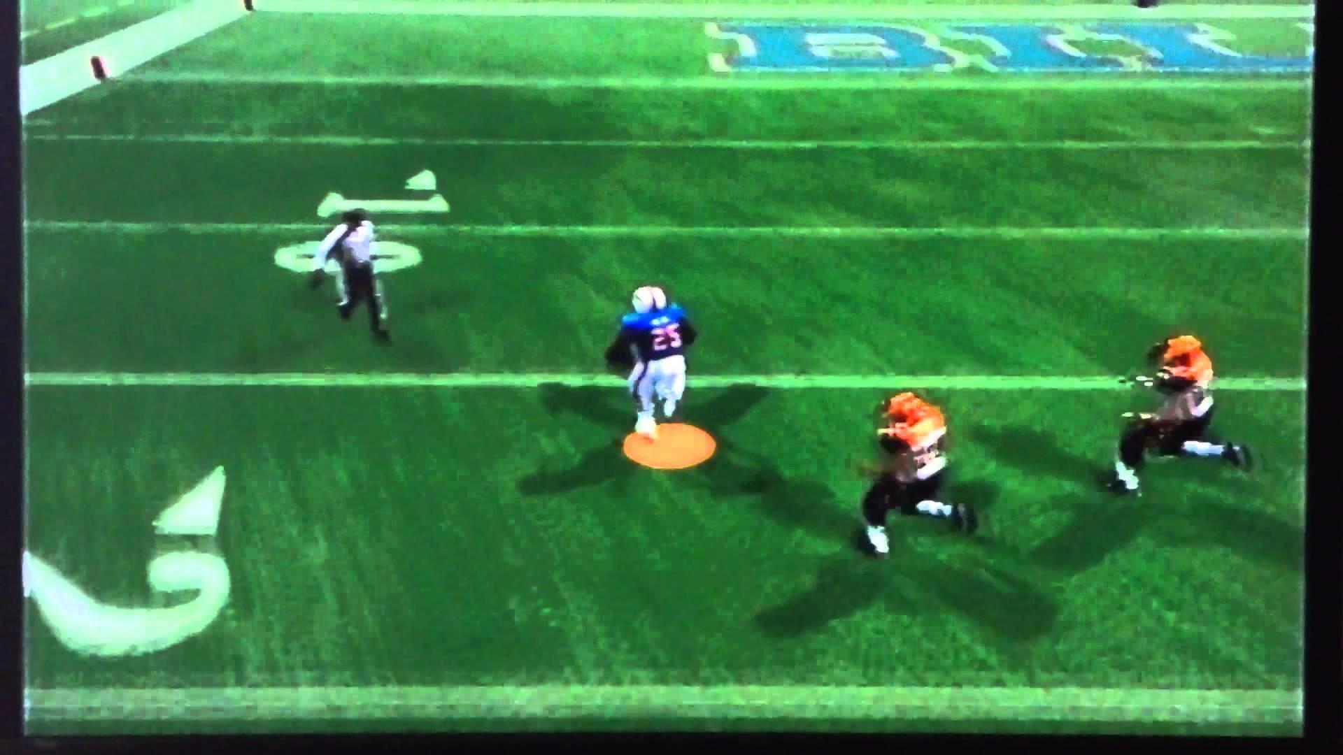 LeSean McCoy bursts out for a touchdown untouched | Bills vs Bengals