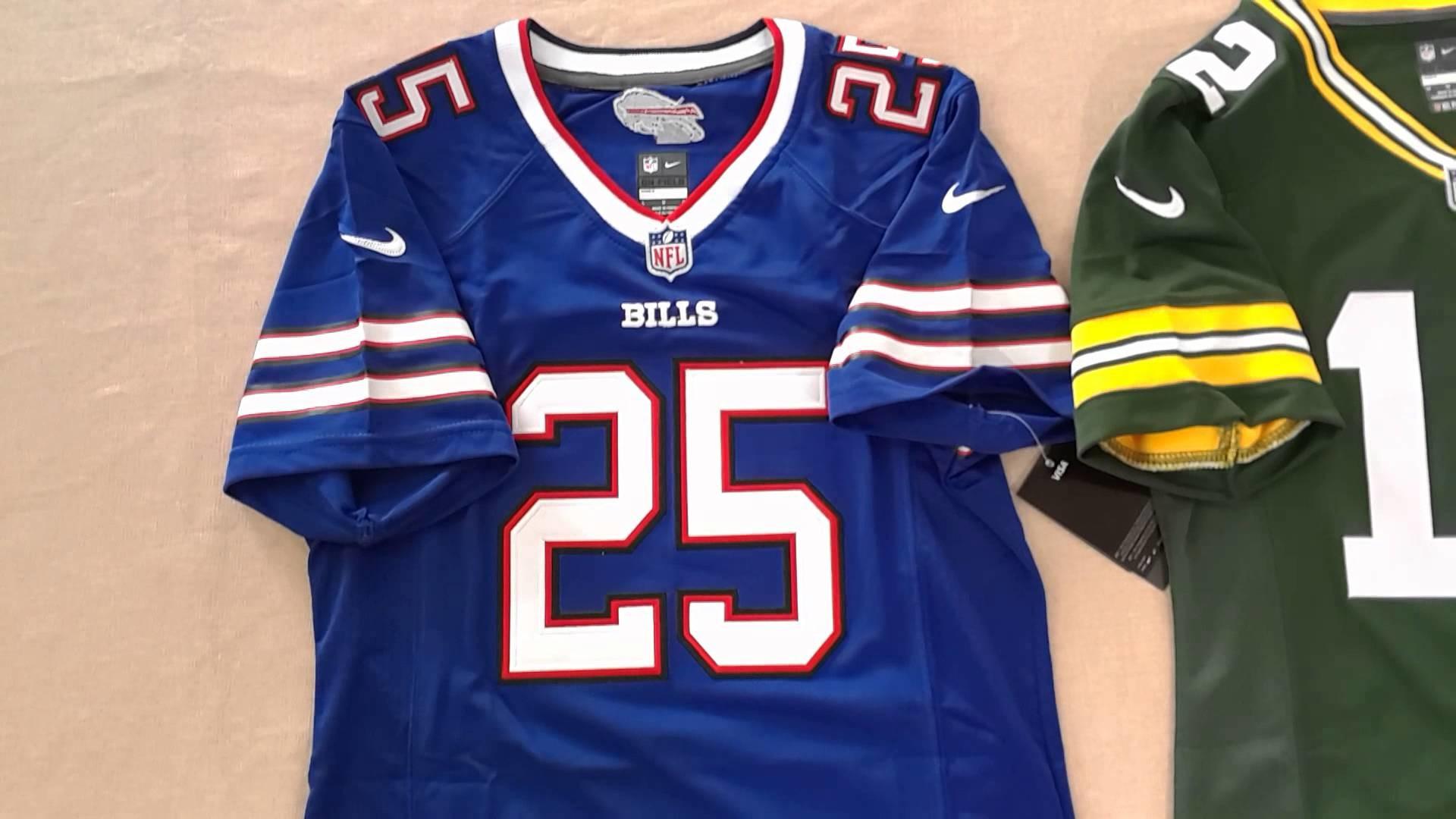 Raiders #4 Derek Carr, Titans #8 Marcus Mariota, Bills #25 LeSean McCoy,Packers  #12 Aaron Rodgers