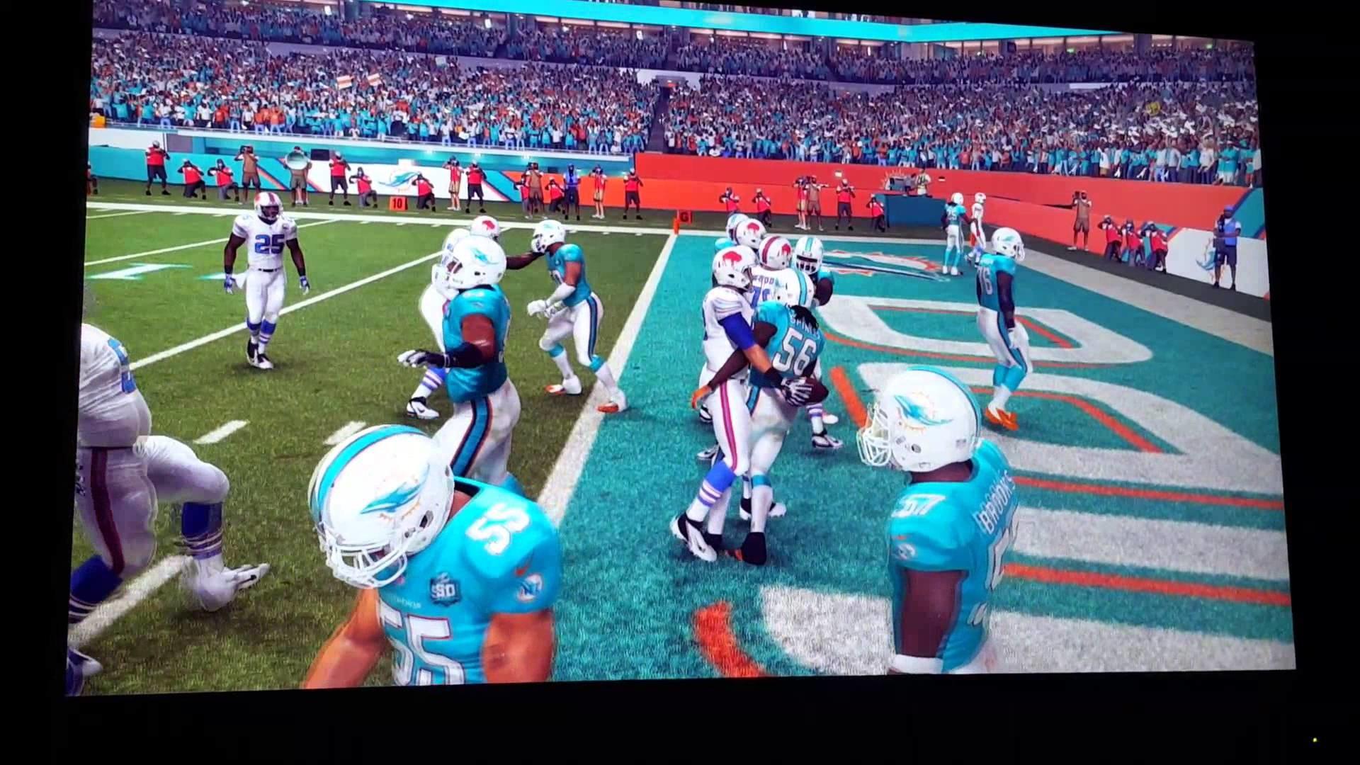 Madden 16 Buffalo Bill's Touchdown Dirty Dancing
