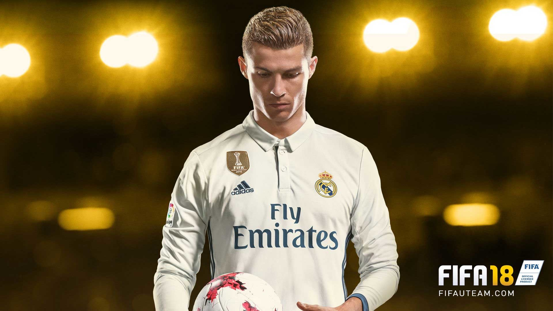 FIFA 2018 Cristiano Ronaldo Wallpaper