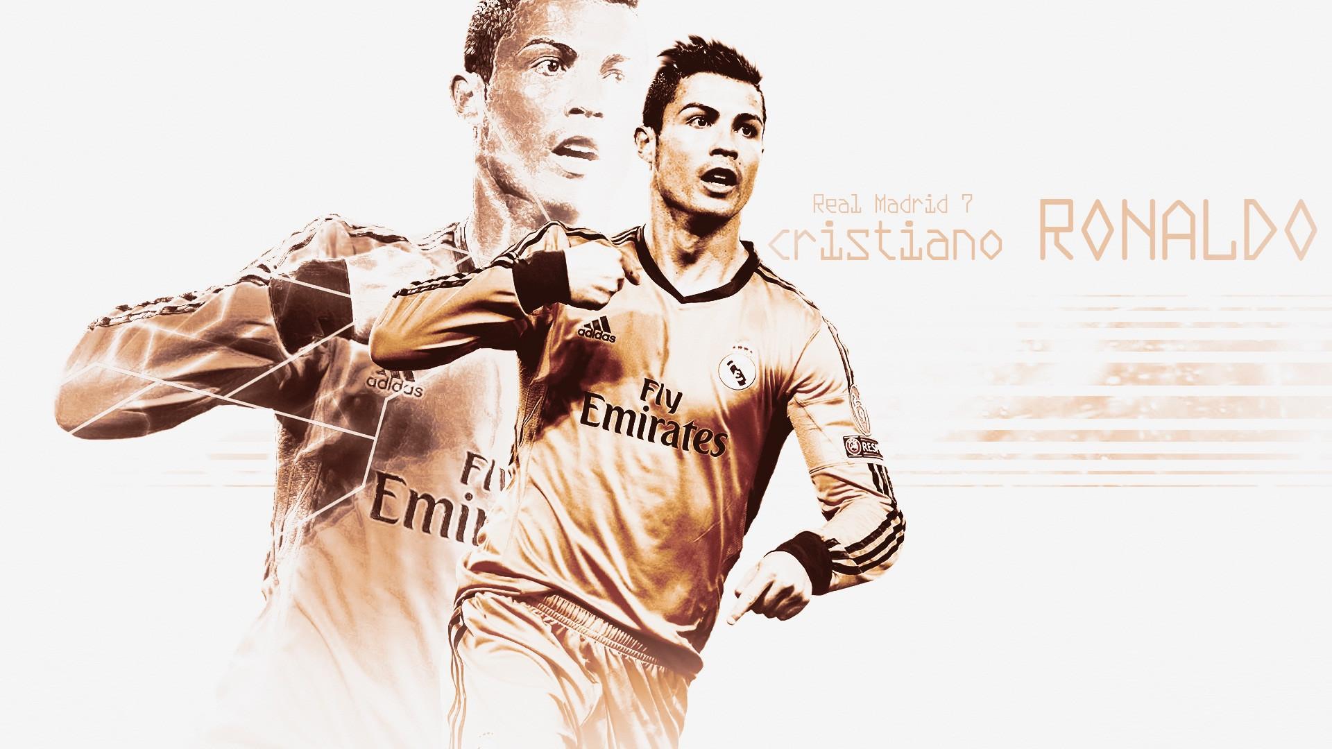 real madrid football star cristiano ronaldo image wallpaper