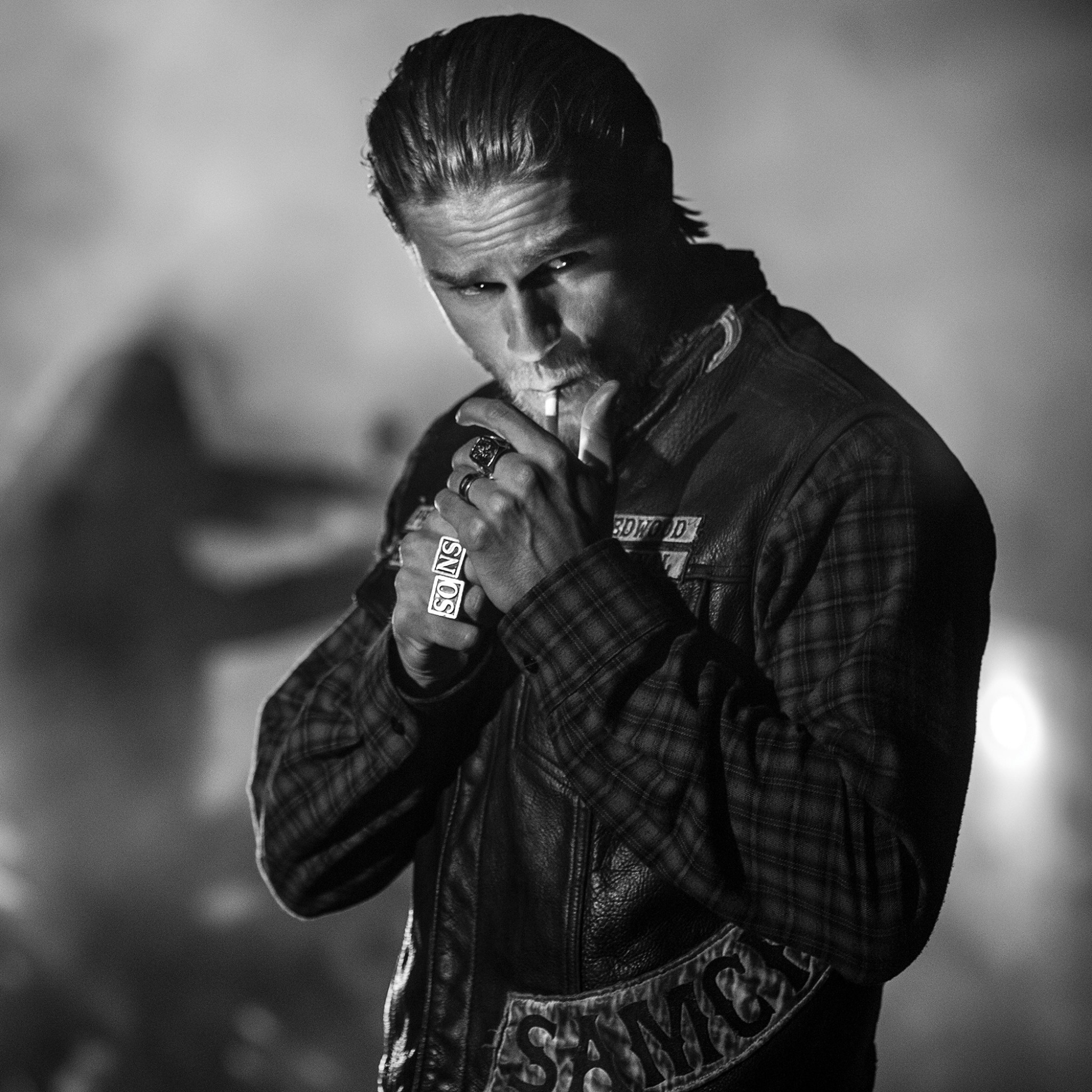 Preview wallpaper sons of anarchy, jax teller, charlie hunnam 2048×2048