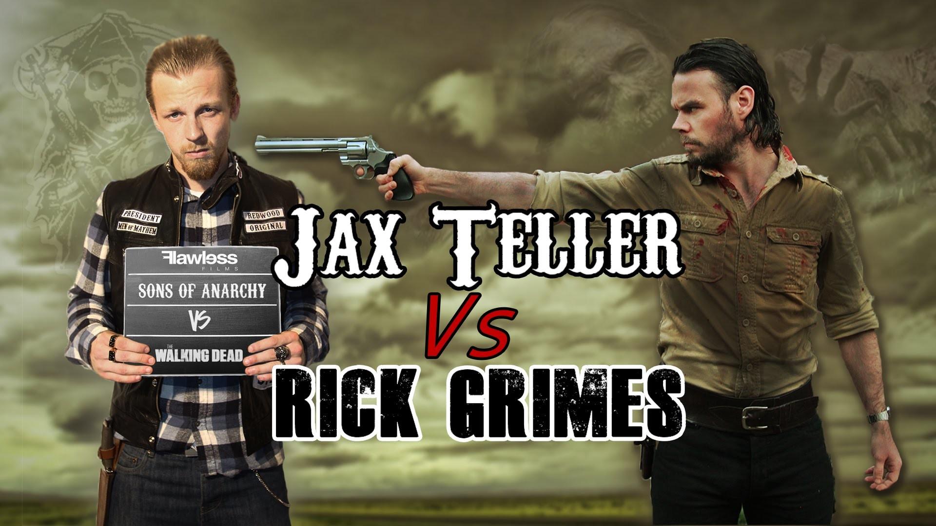 Jax Teller Vs Rick Grimes | Sons of Anarchy Vs The Walking Dead – YouTube