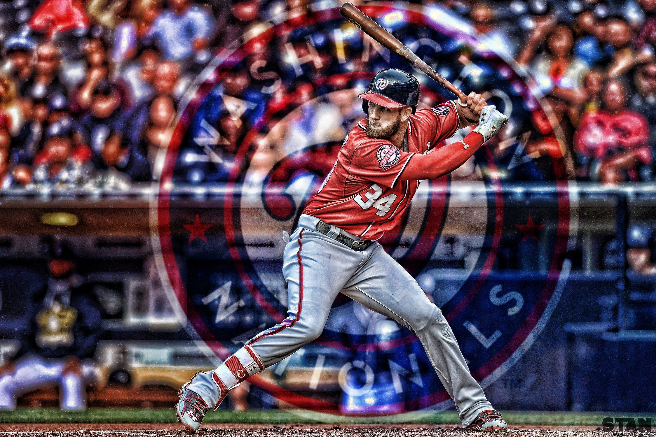Bryce Harper Speed Edit (Photoshop/Topaz Labs)