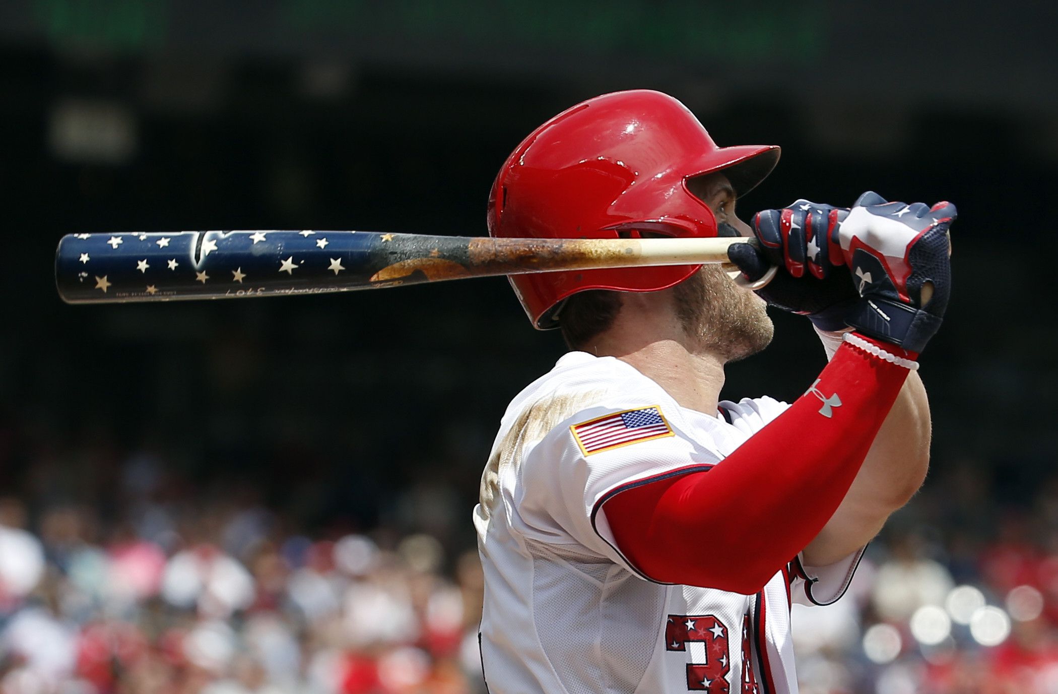 Bryce Harper, Tyler Moore lead Nationals to 9-3 win over Giants on Fourth  of July – Washington Times