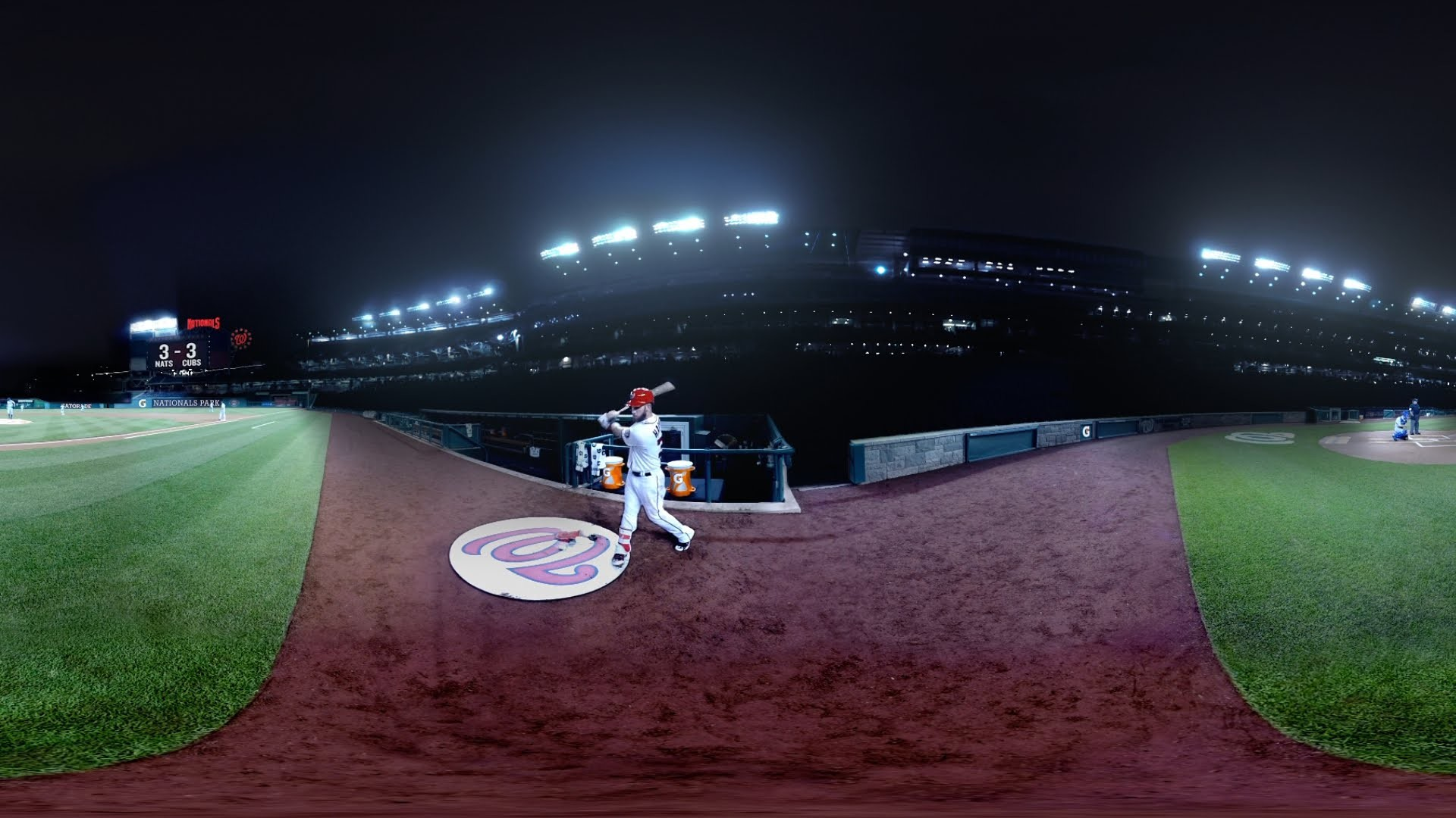 Behind the Scenes: Gatorade – Bryce Harper Virtual Reality Experience