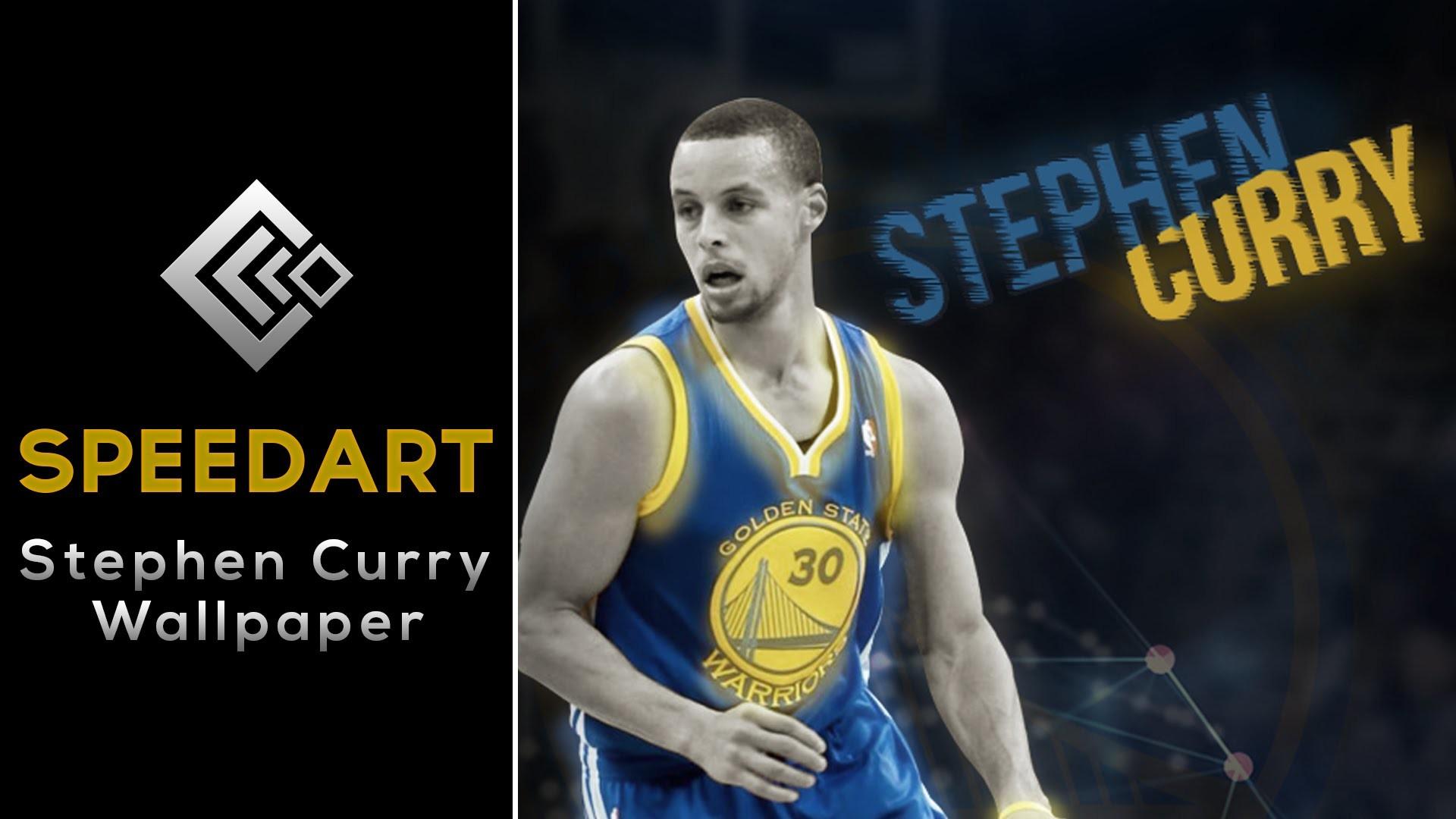 Stephen Curry Wallpaper   GFX Speedart