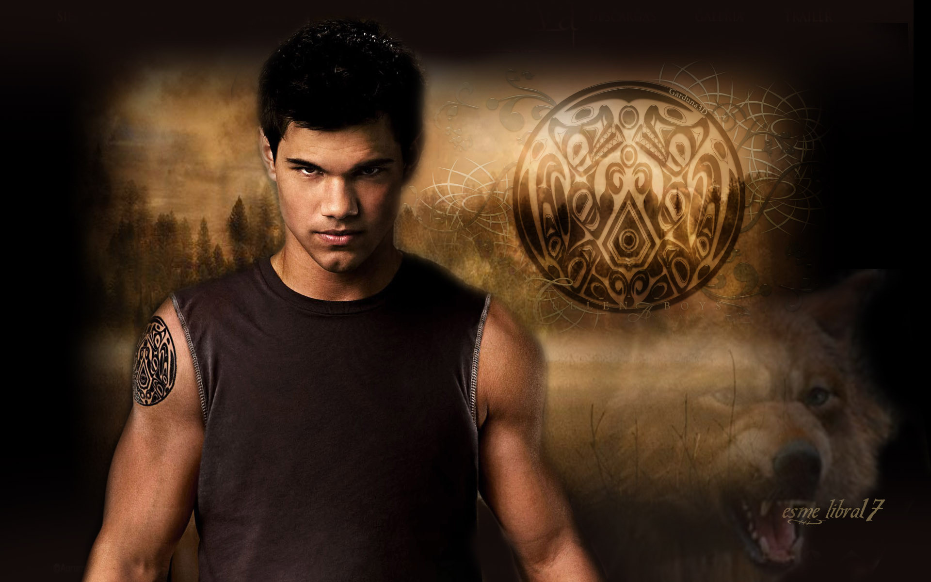 HD Wallpaper and background photos of jacob black for fans of twilight  Crepúsculo images.