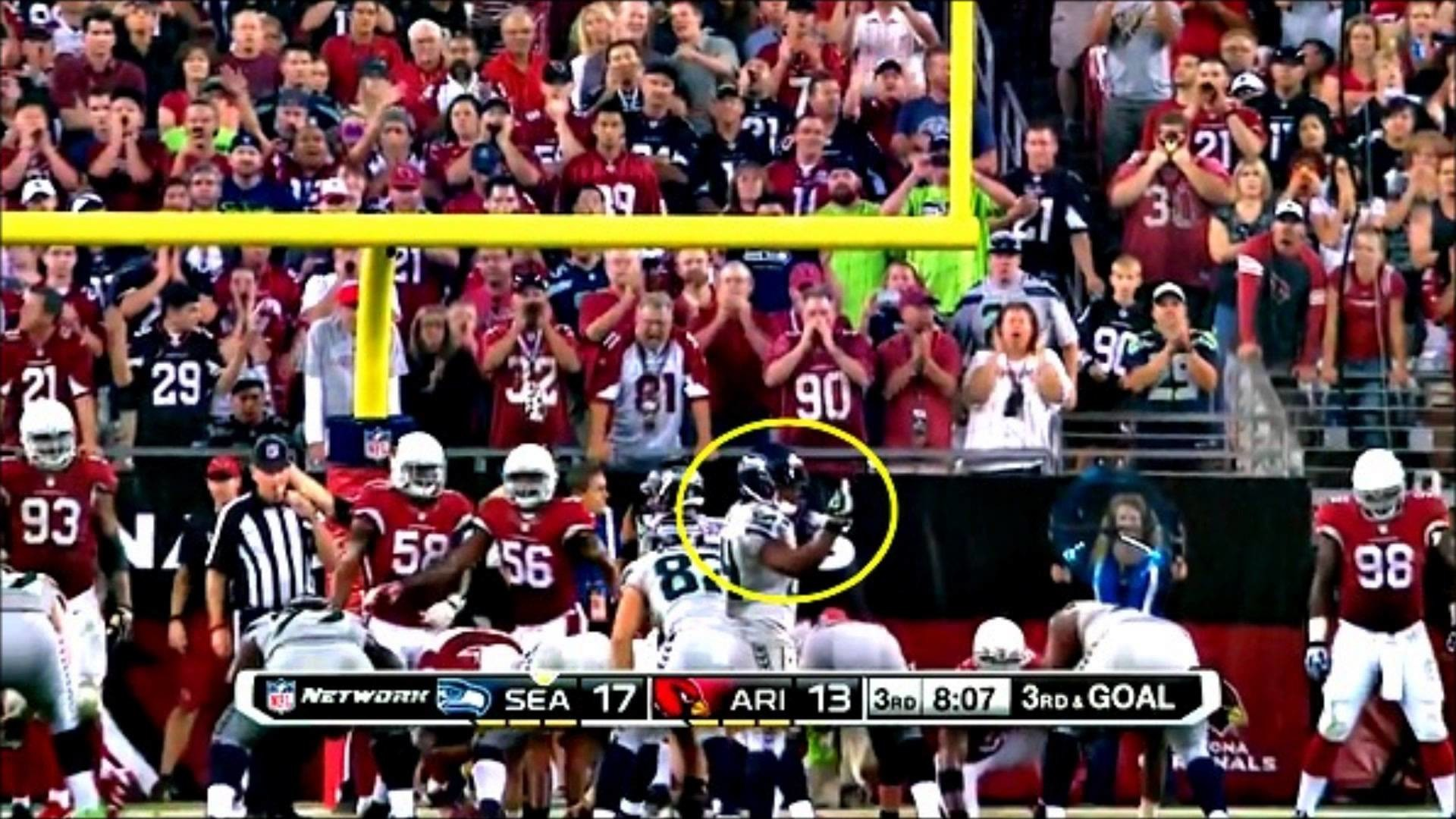 Did Marshawn Lynch get fined when he flipped the bird at Bevell?