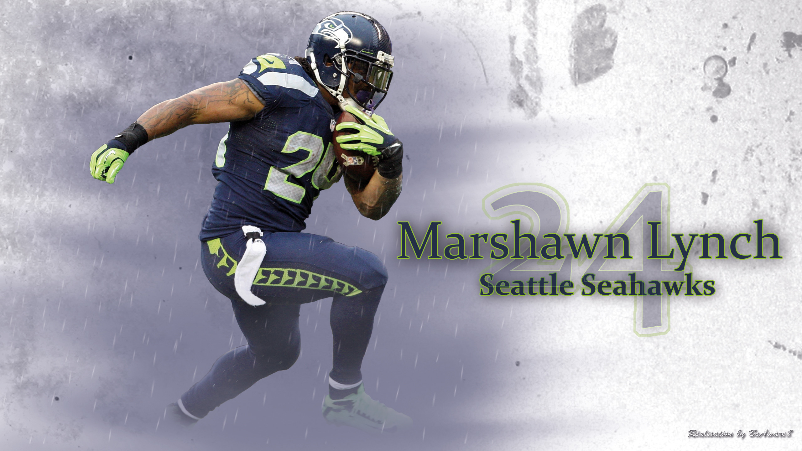 Seahawks Marshawn Lynch Wallpaper free desktop backgrounds and .
