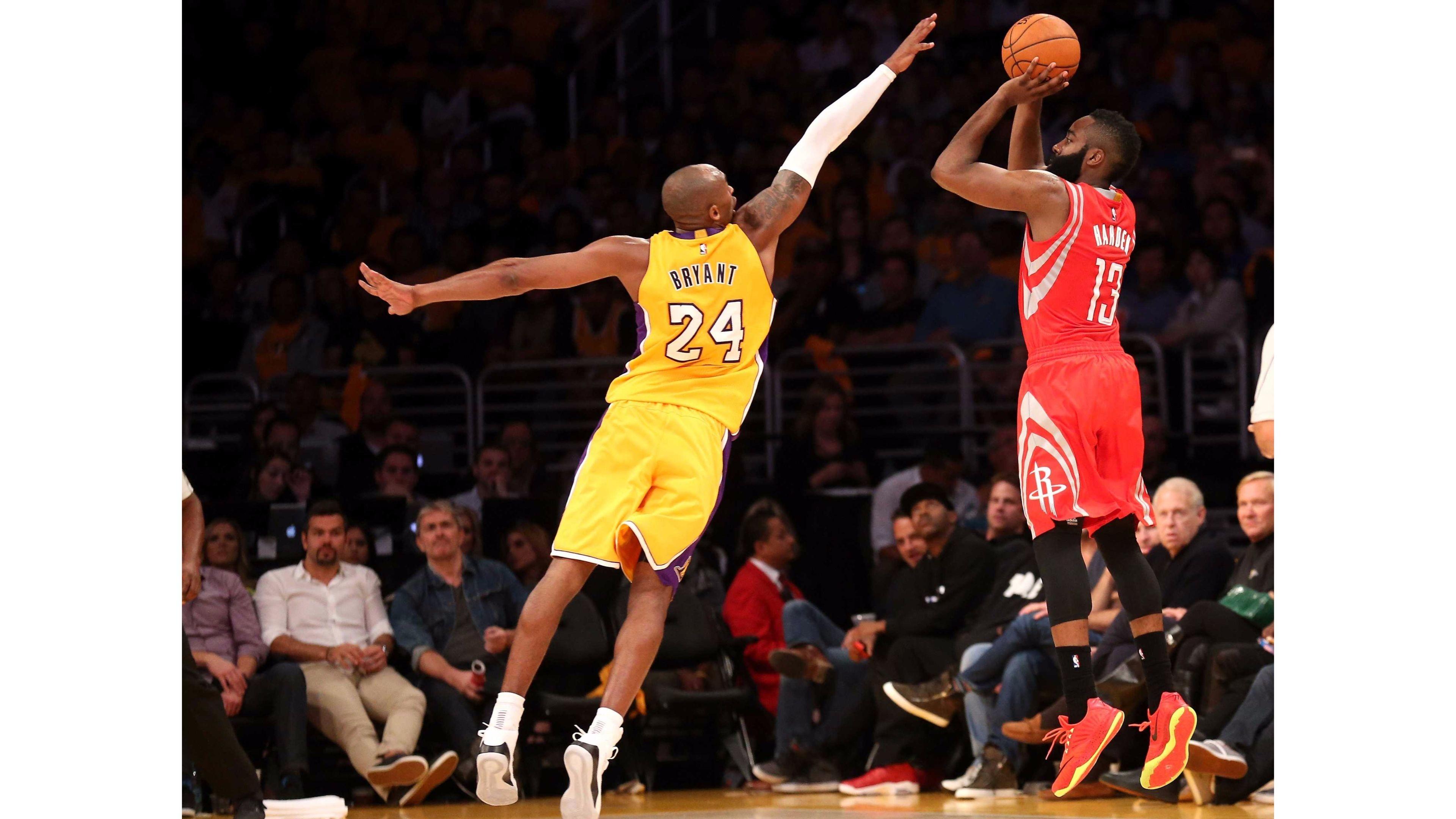 Kobe Bryant vs 4K James Harden Wallpapers