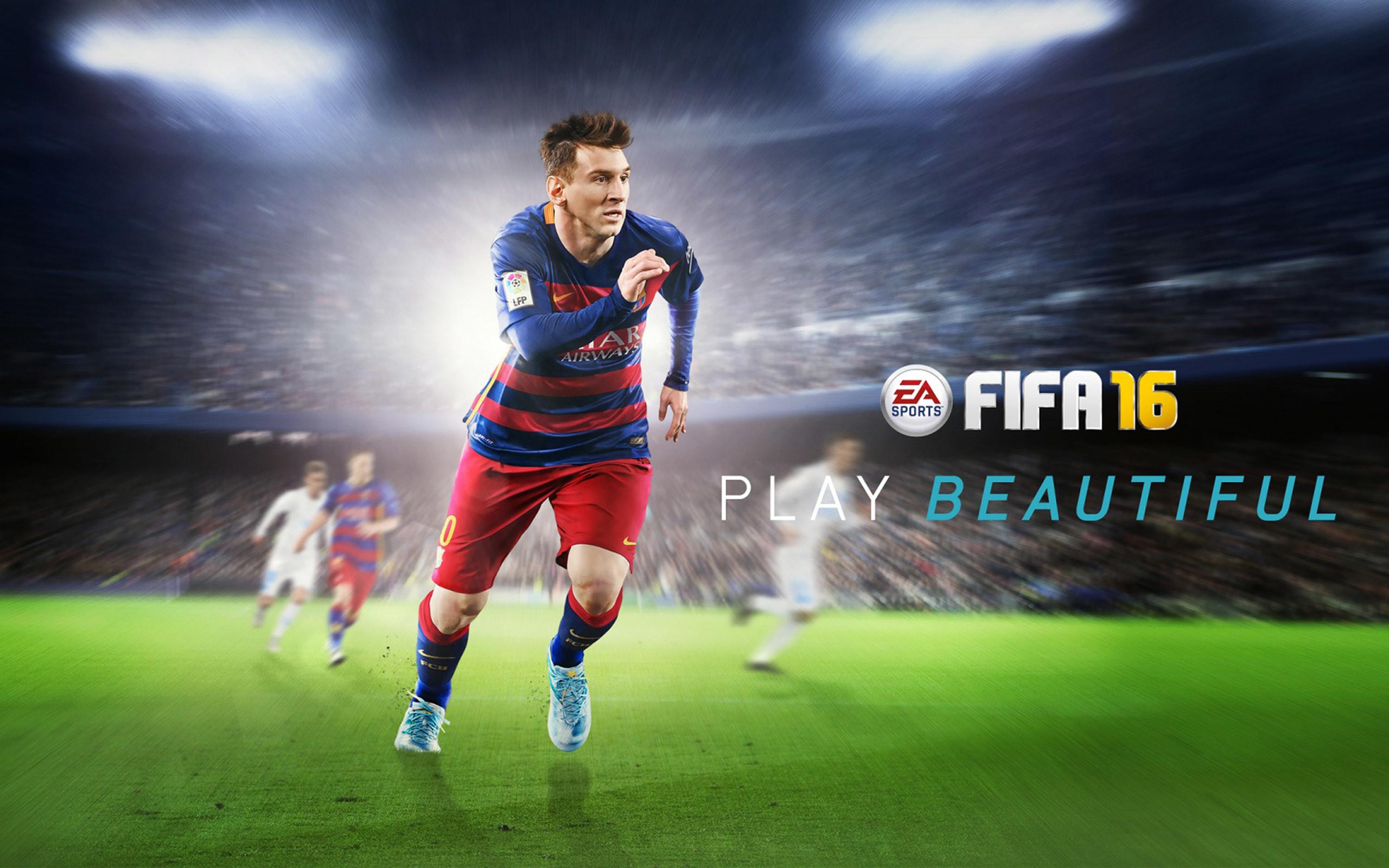 Lionel Messi FIFA 16 Wallpaper