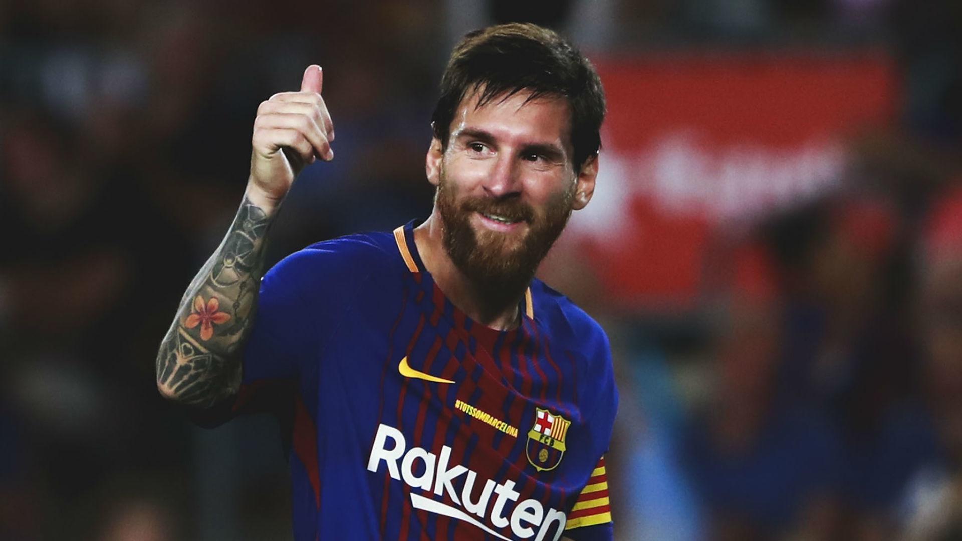 "Lionel Messi Barcelona 2017. """