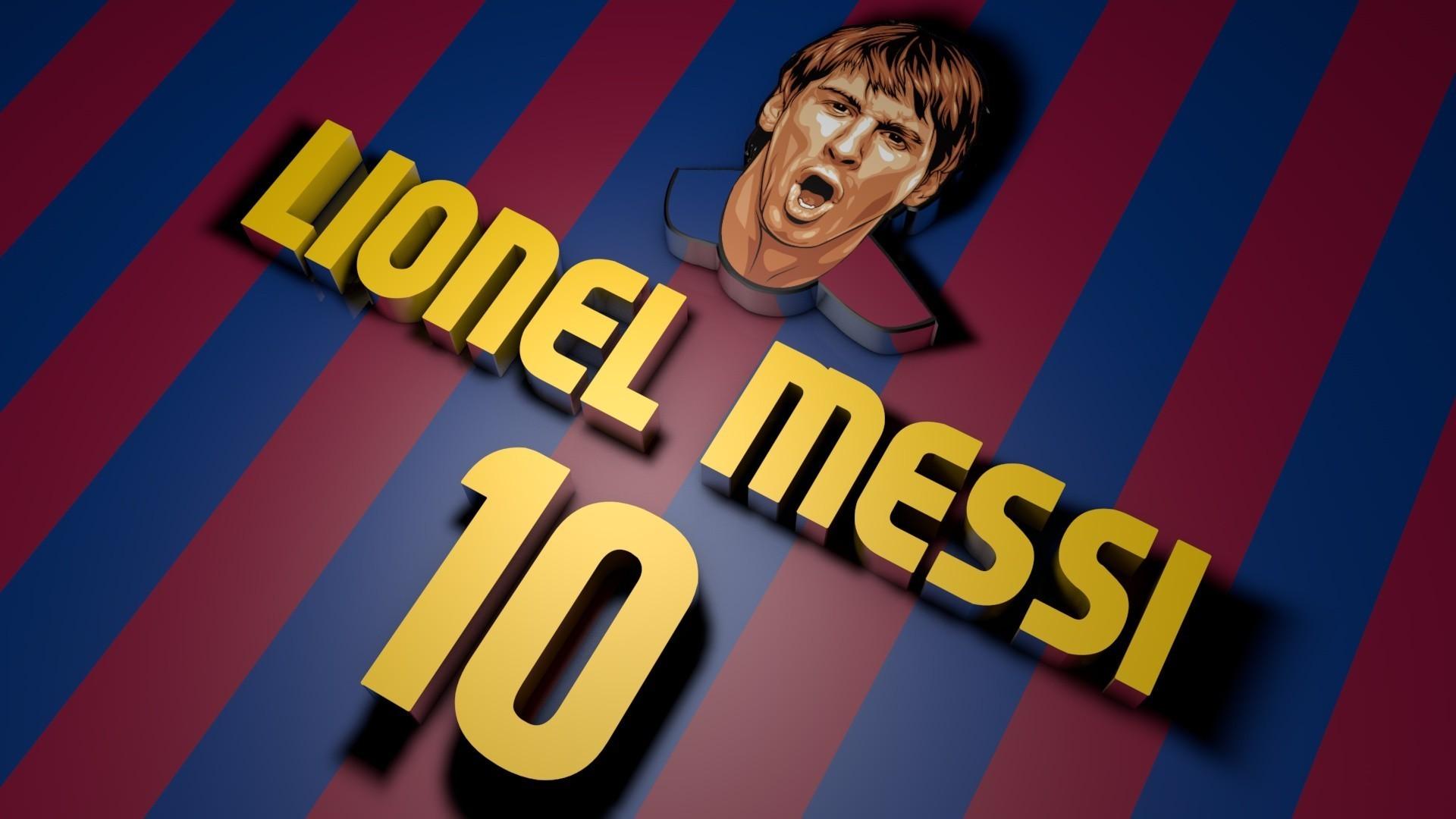 Lionel Messi FC Barcelona HD Wallpaper.
