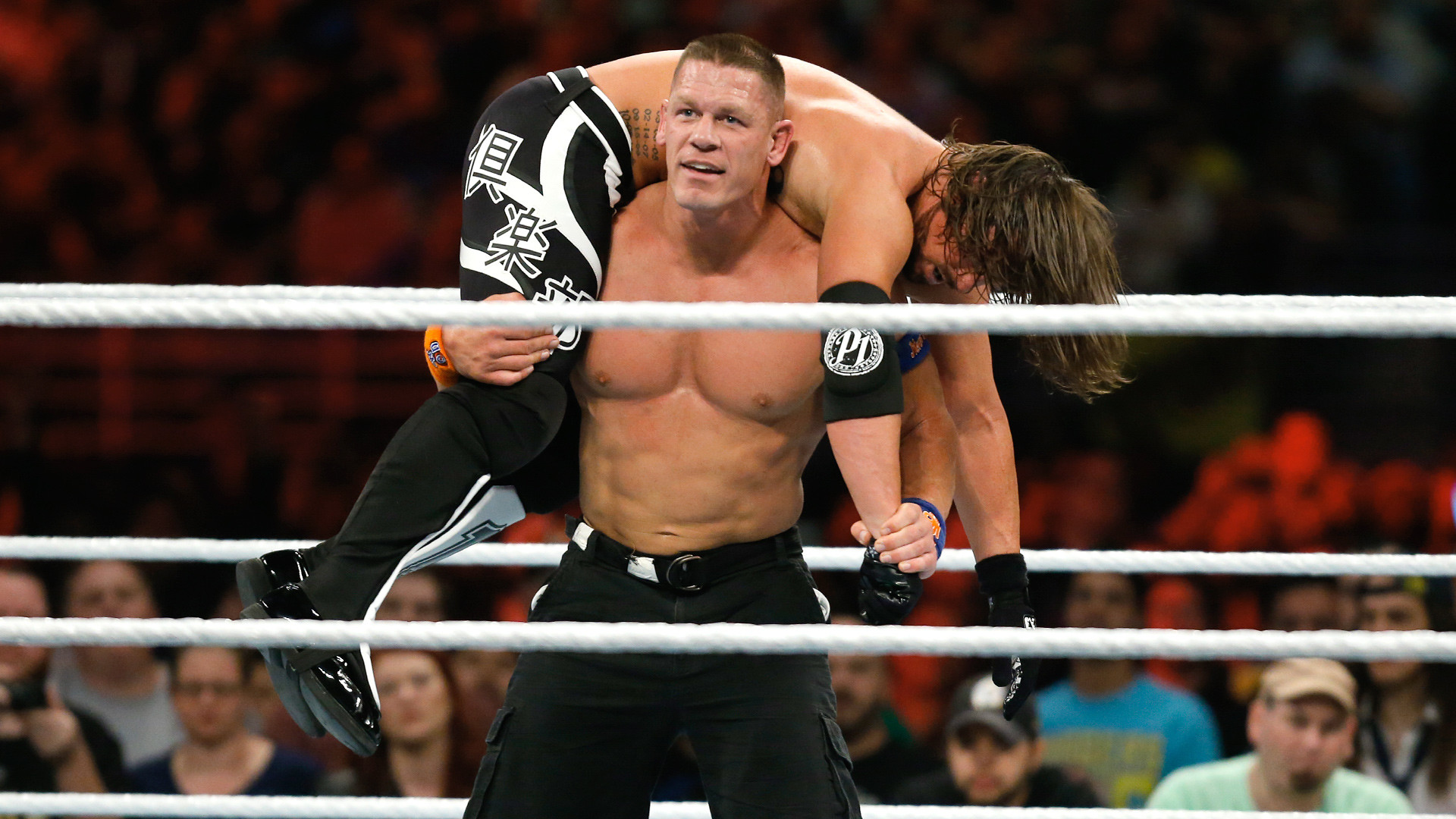 WWE Network: John Cena vs. AJ Styles – WWE Title Match: Royal Rumble 2017 |  WWE