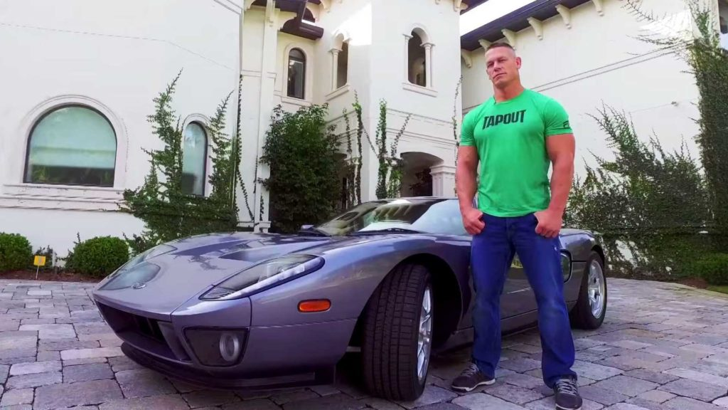 John Cena Is An Auto Geek, Check Out His 2006 Ford GT product 2017-05-15  18:30:02