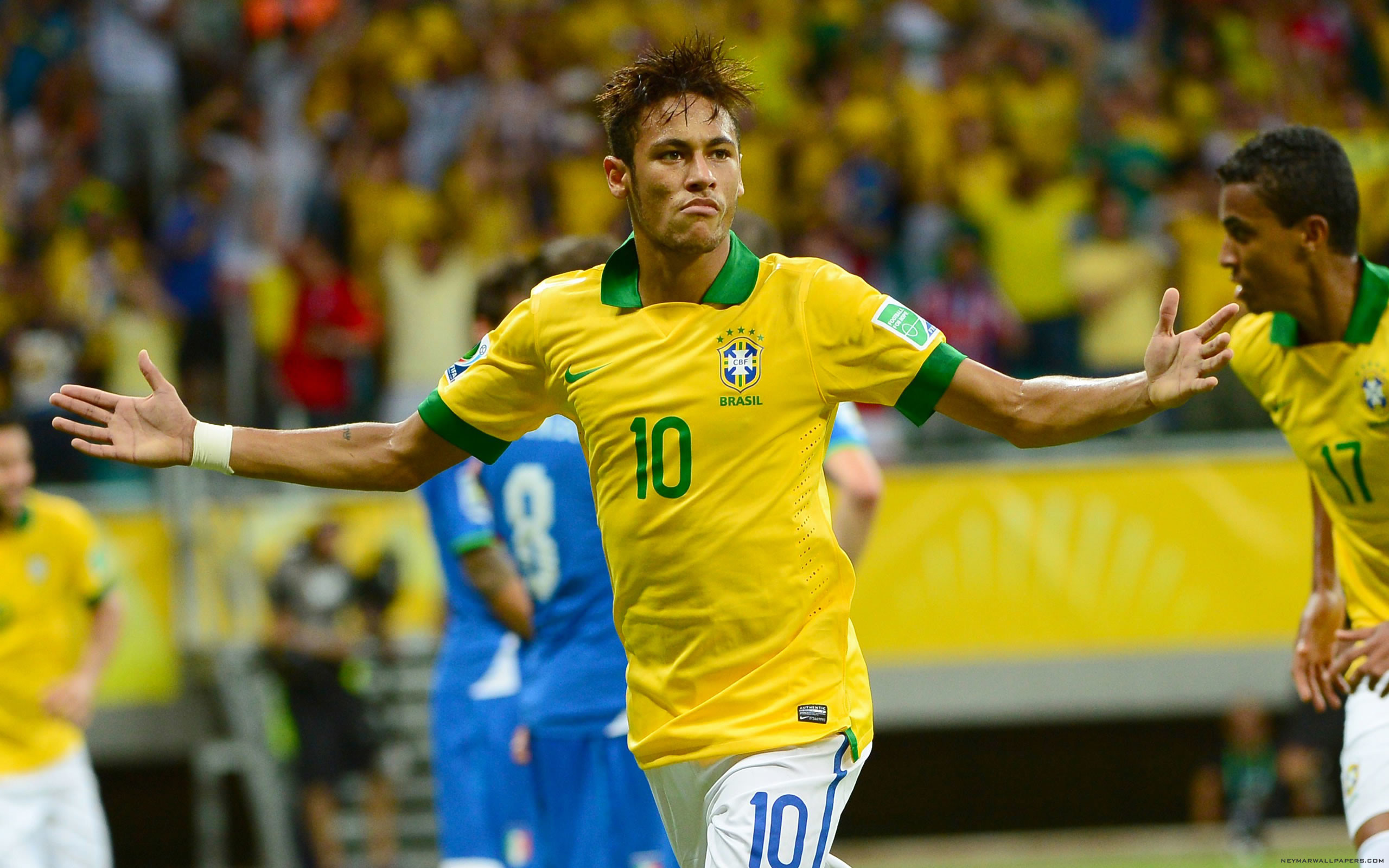 Daniel Alves Neymar will show how special he is in this World Cup 2560×1600