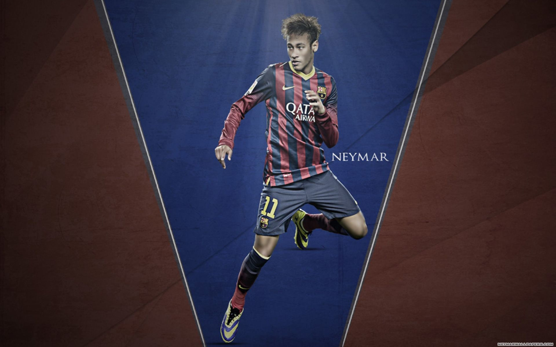 Neymar Wallpaper HD تنزيل Neymar Wallpaper HD Suarez Messi Neymar HD  wallpaper by SelvedinFCB on DeviantArt 1920×1200